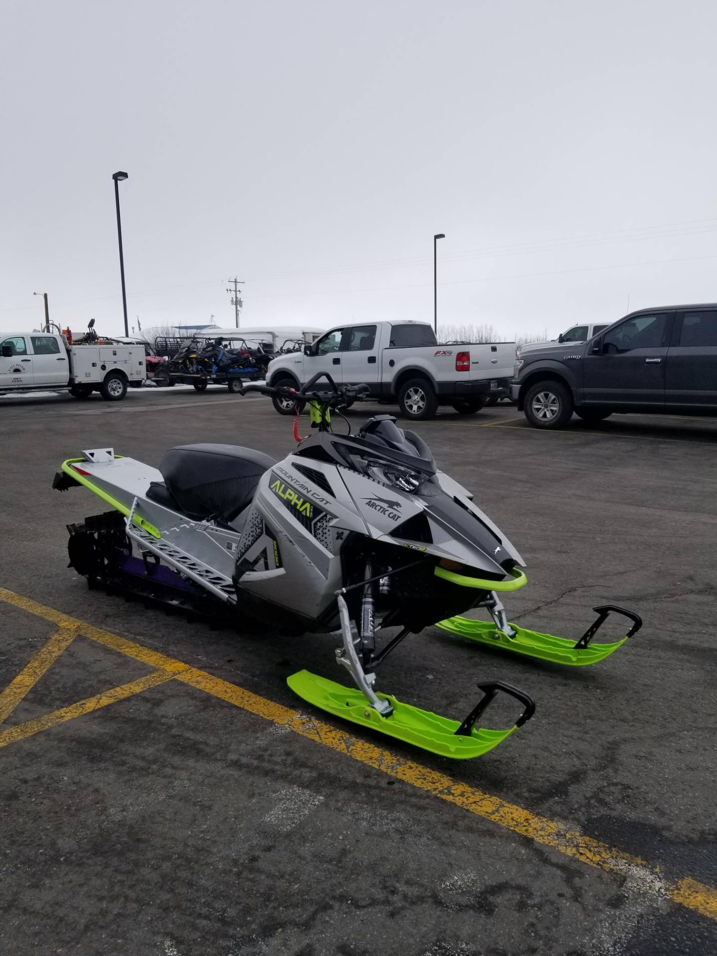 2020 Arctic Cat M 8000 Mountain Cat Alpha One 154 ES in Rexburg, Idaho - Photo 5