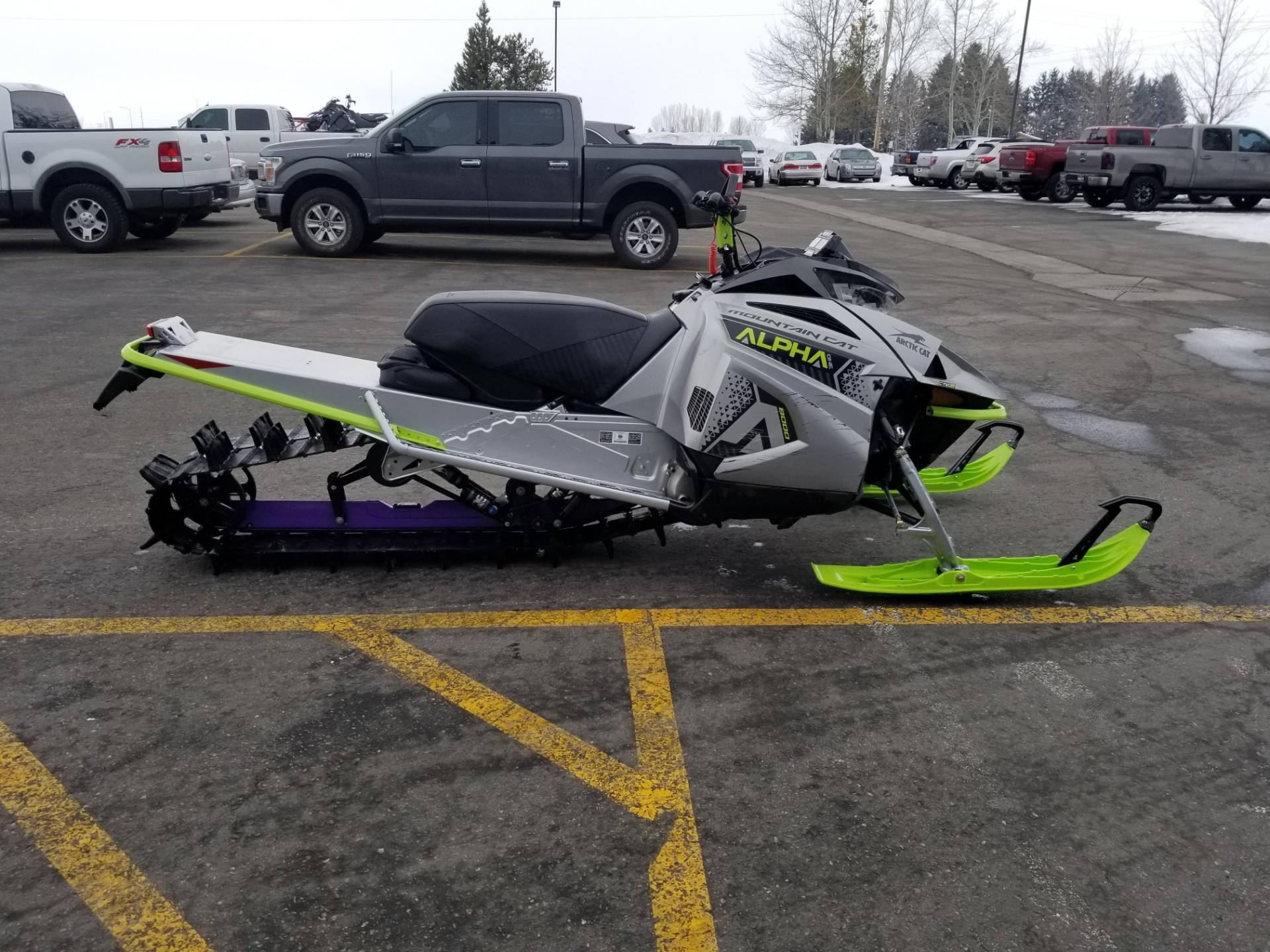 2020 Arctic Cat M 8000 Mountain Cat Alpha One 154 ES in Rexburg, Idaho - Photo 6
