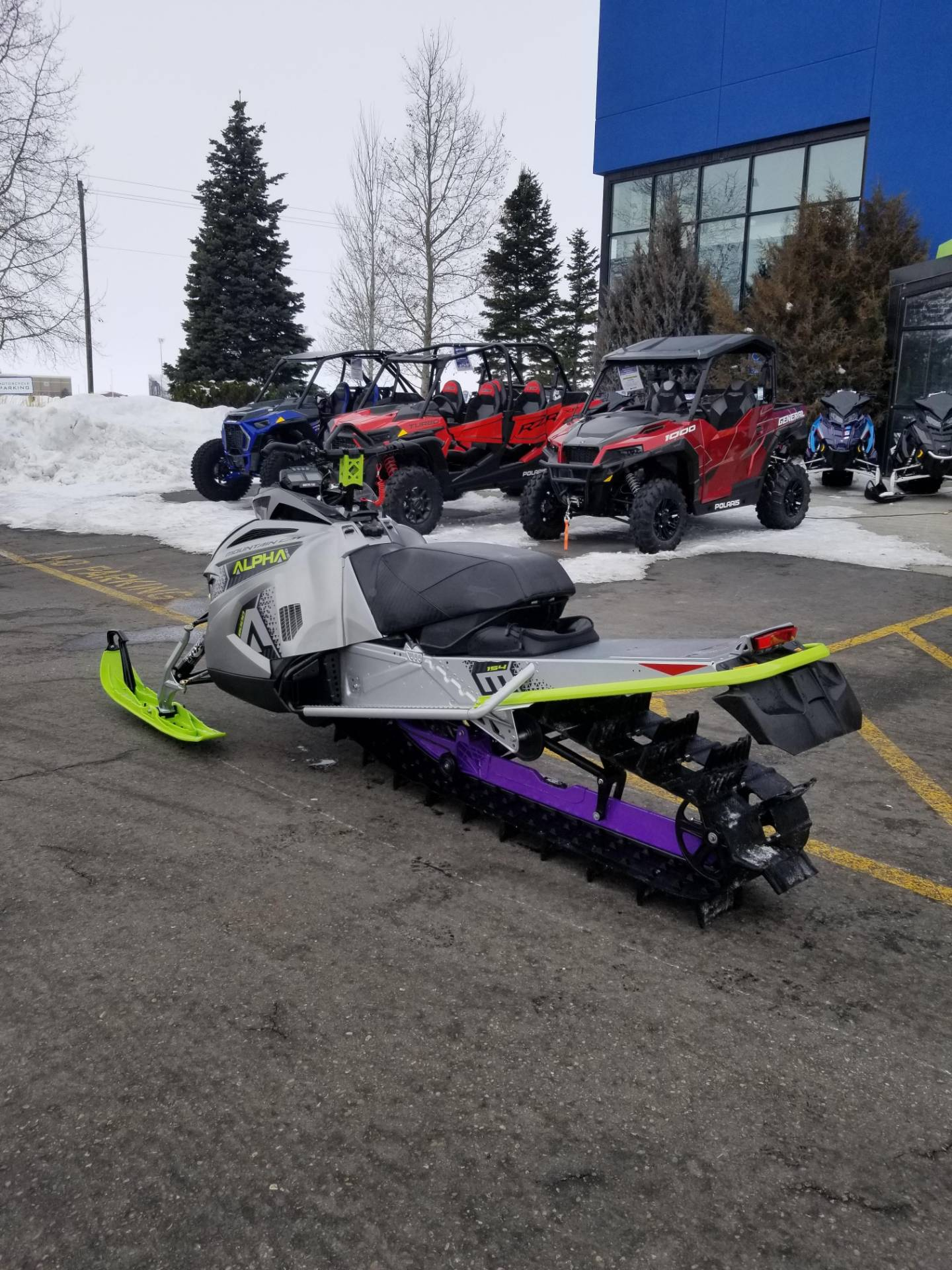 2020 Arctic Cat M 8000 Mountain Cat Alpha One 154 ES in Rexburg, Idaho - Photo 10