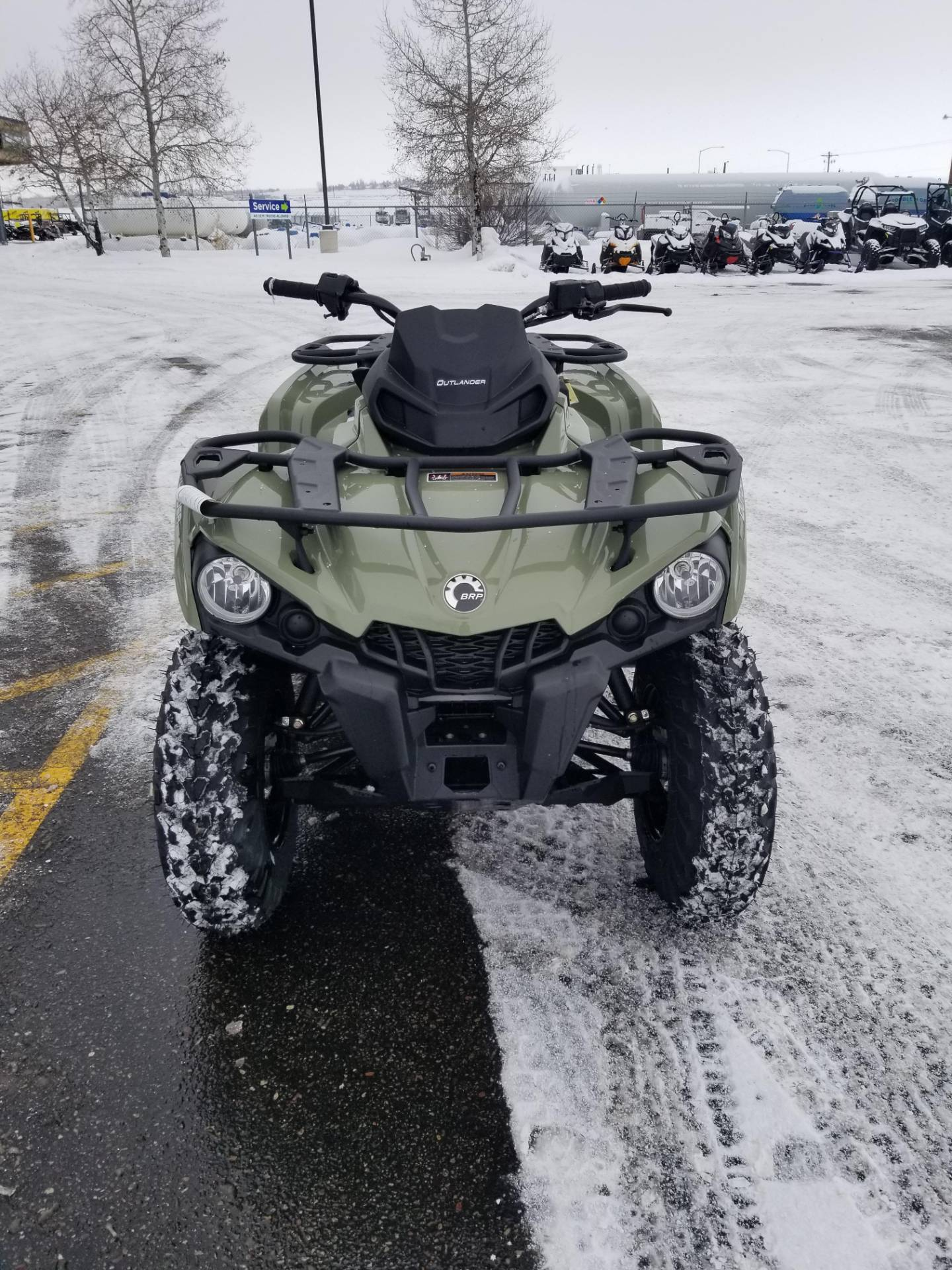 2020 Can-Am Outlander DPS 450 in Rexburg, Idaho - Photo 4