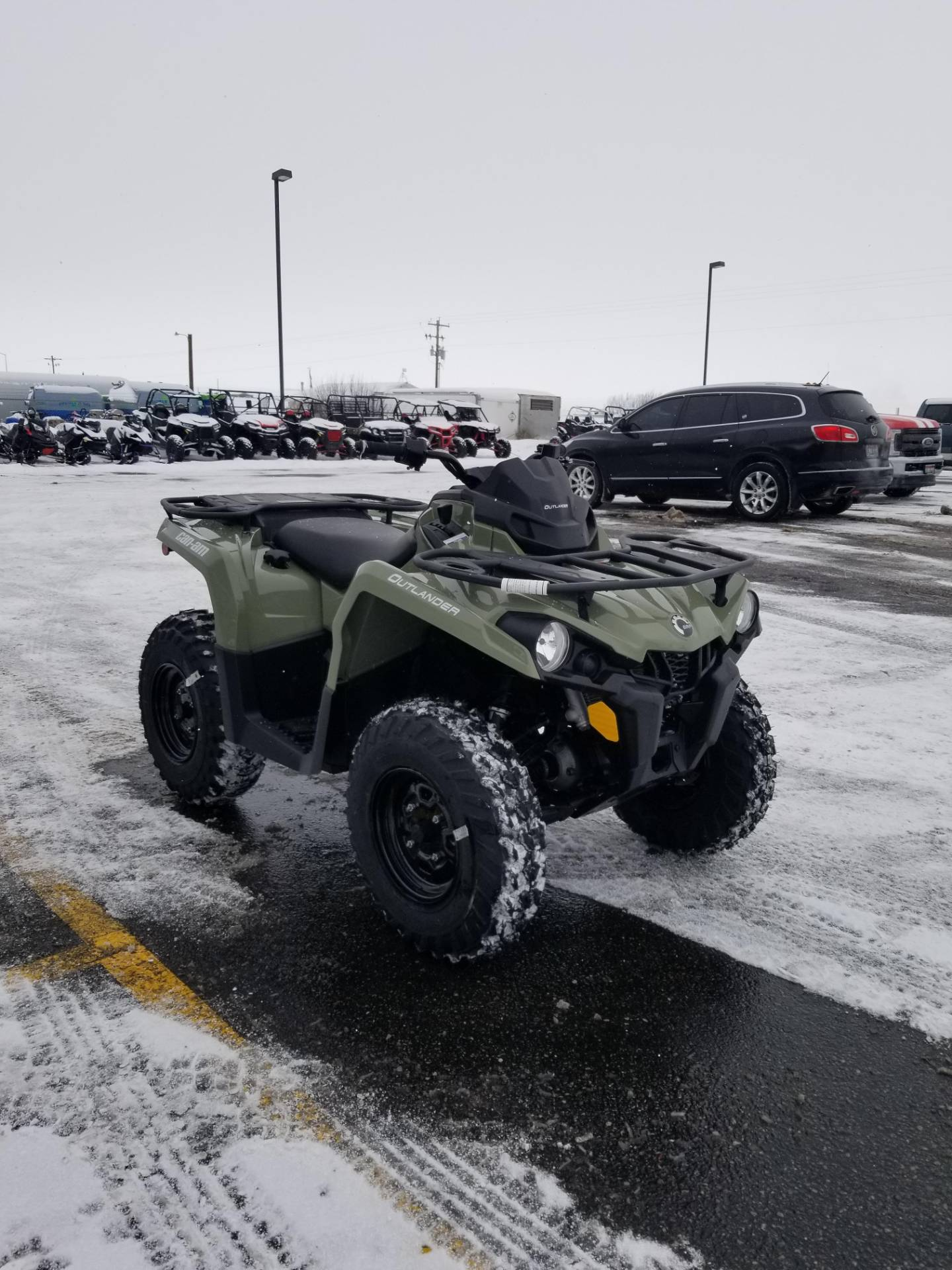 2020 Can-Am Outlander DPS 450 in Rexburg, Idaho - Photo 5