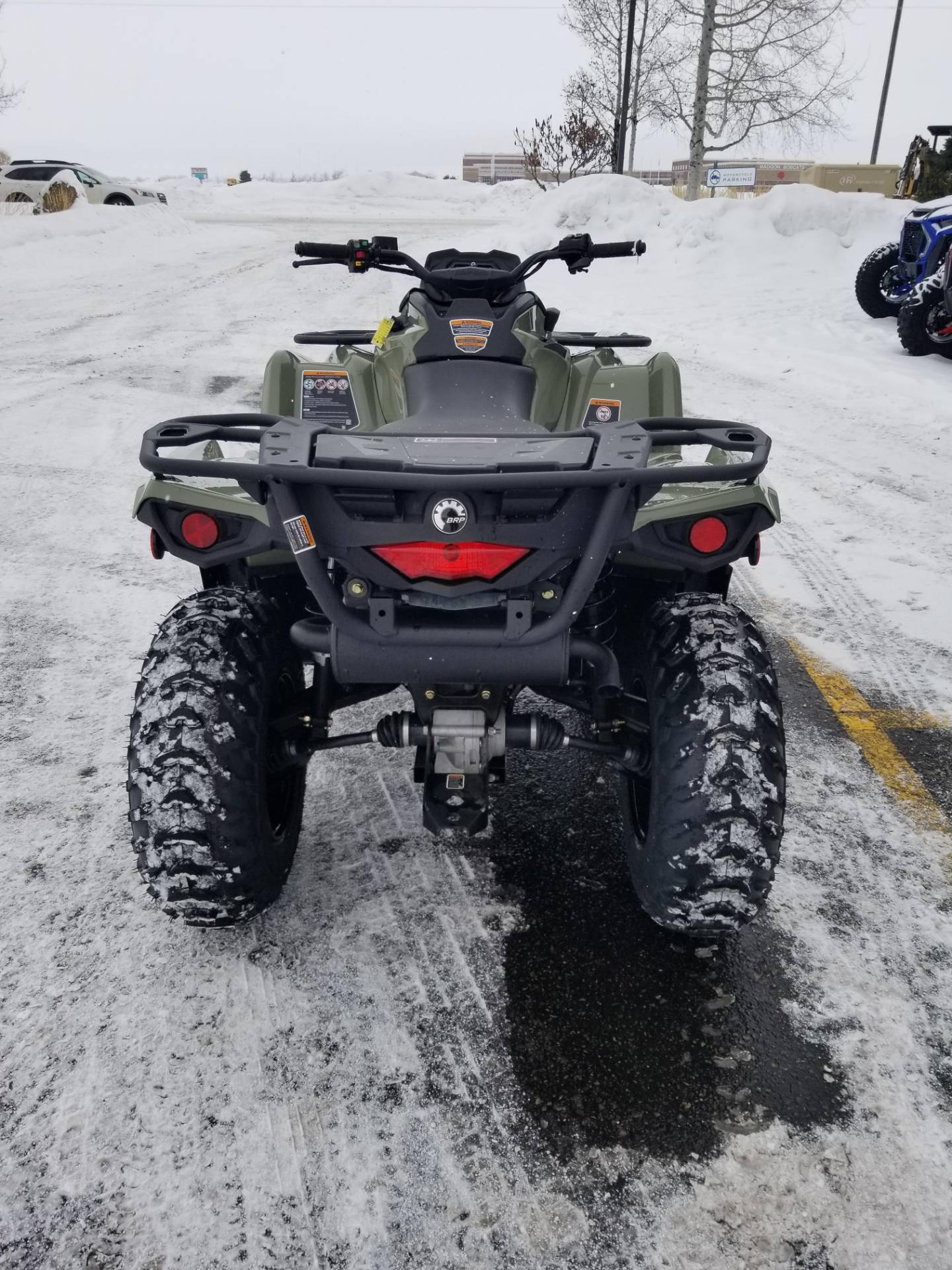 2020 Can-Am Outlander DPS 450 in Rexburg, Idaho - Photo 9