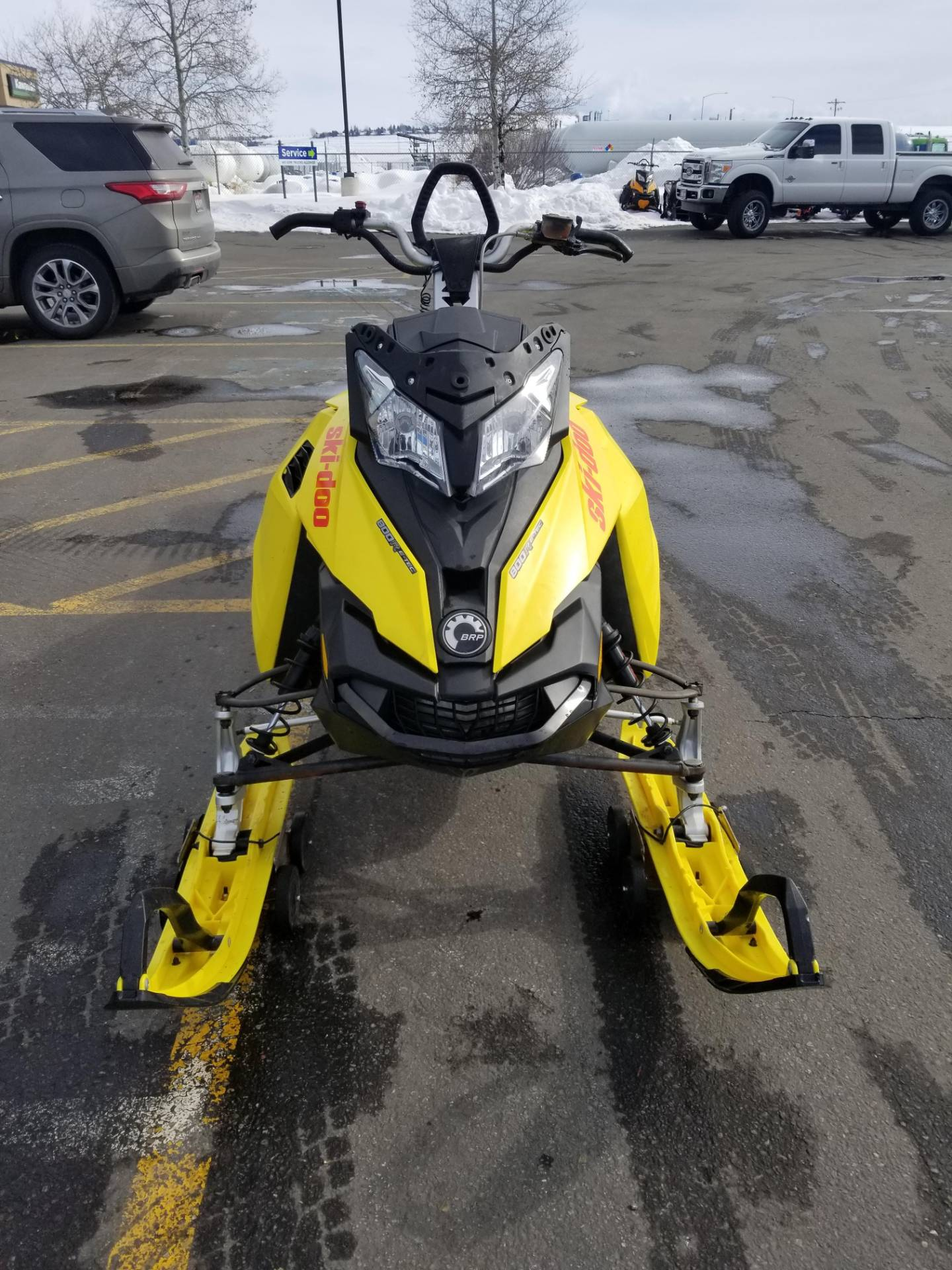 "2015 Ski-Doo Summit® X® 174 800R E-TEC®, PowderMax 3.0"" in Rexburg, Idaho - Photo 4"