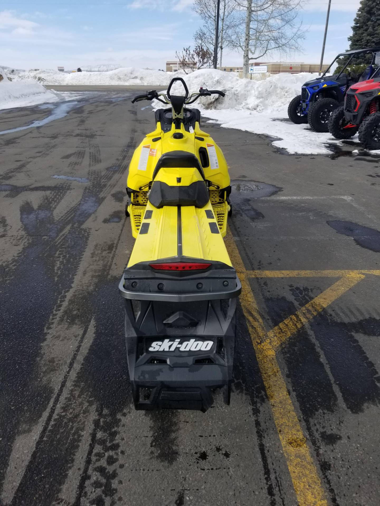 "2015 Ski-Doo Summit® X® 174 800R E-TEC®, PowderMax 3.0"" in Rexburg, Idaho - Photo 8"