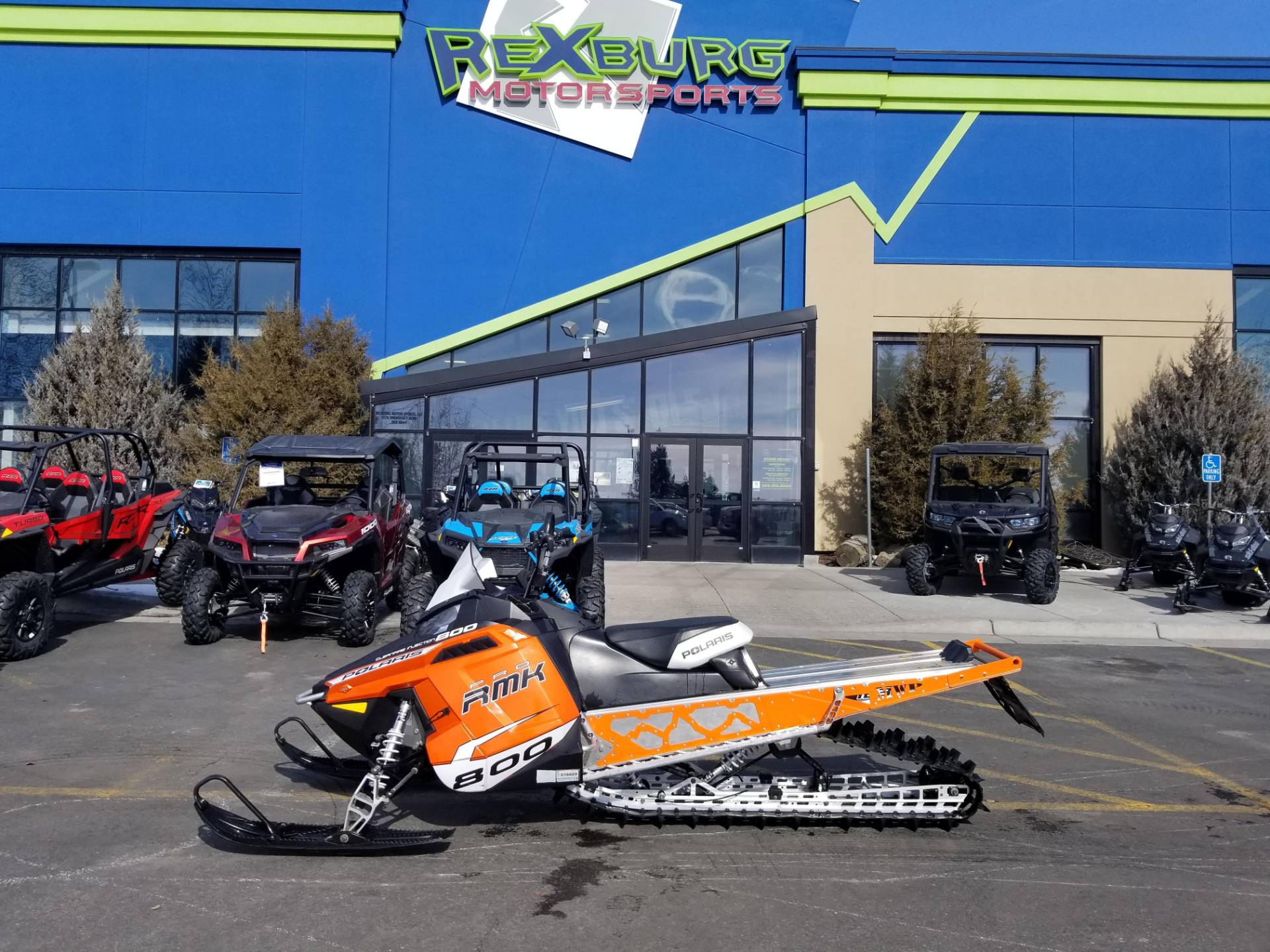 2013 Polaris 800 PRO-RMK® 163 in Rexburg, Idaho - Photo 1