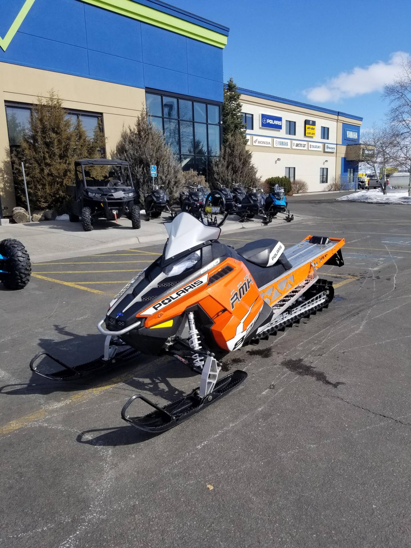 2013 Polaris 800 PRO-RMK® 163 in Rexburg, Idaho - Photo 2
