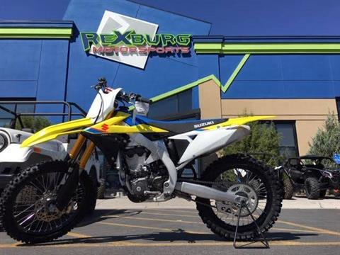 2019 Suzuki RM-Z450 in Rexburg, Idaho - Photo 1