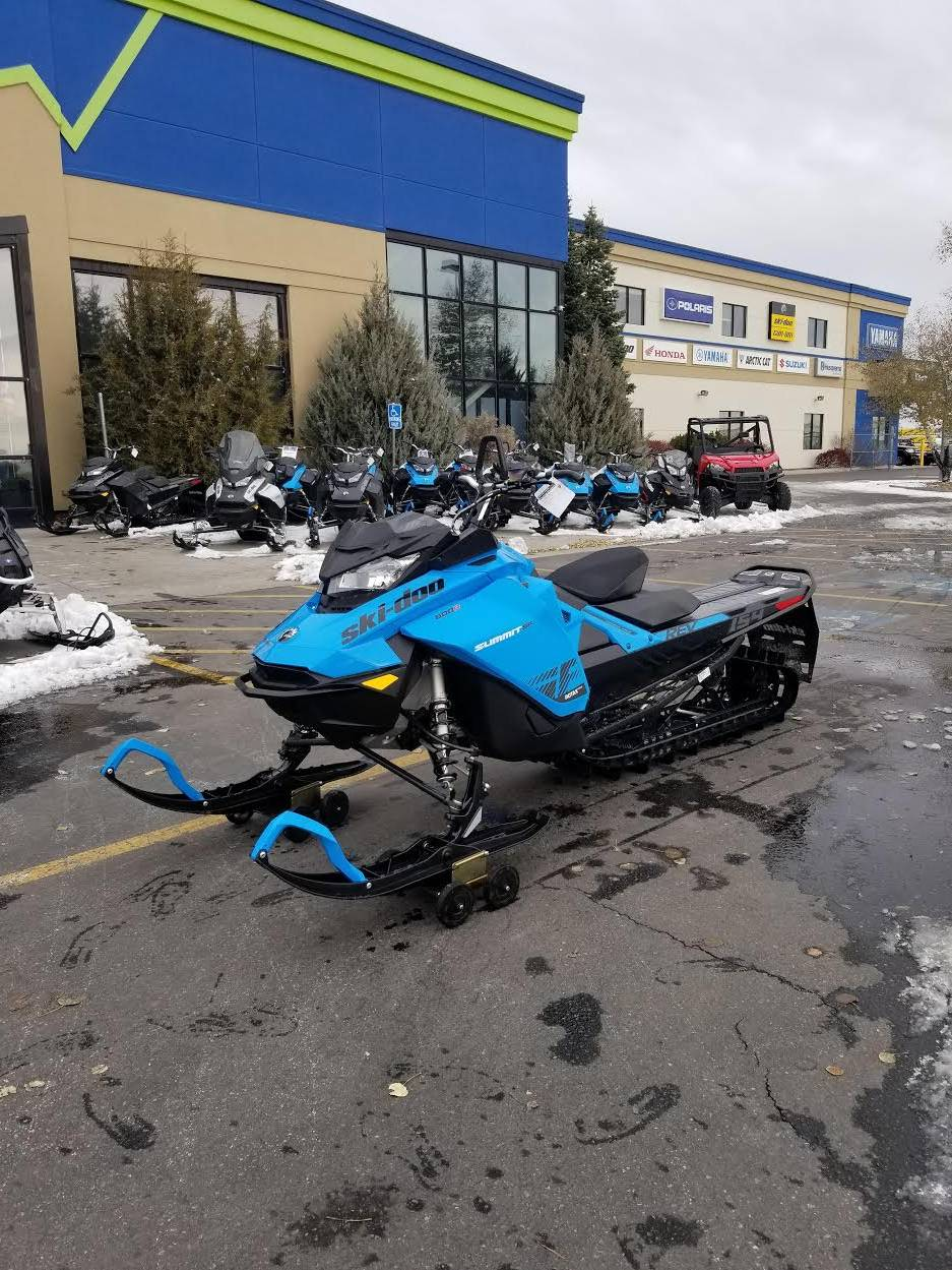2020 Ski-Doo Summit SP 154 600R E-TEC SHOT PowderMax Light 2.5 w/ FlexEdge in Rexburg, Idaho - Photo 2