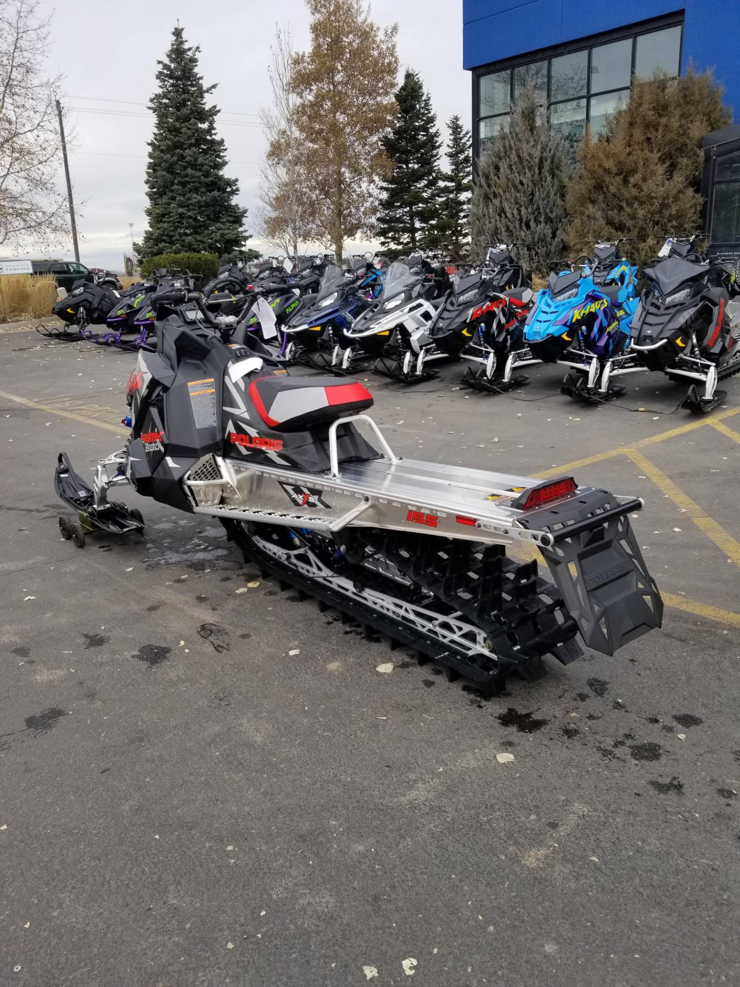2020 Polaris 800 RMK KHAOS 155 SC in Rexburg, Idaho - Photo 10