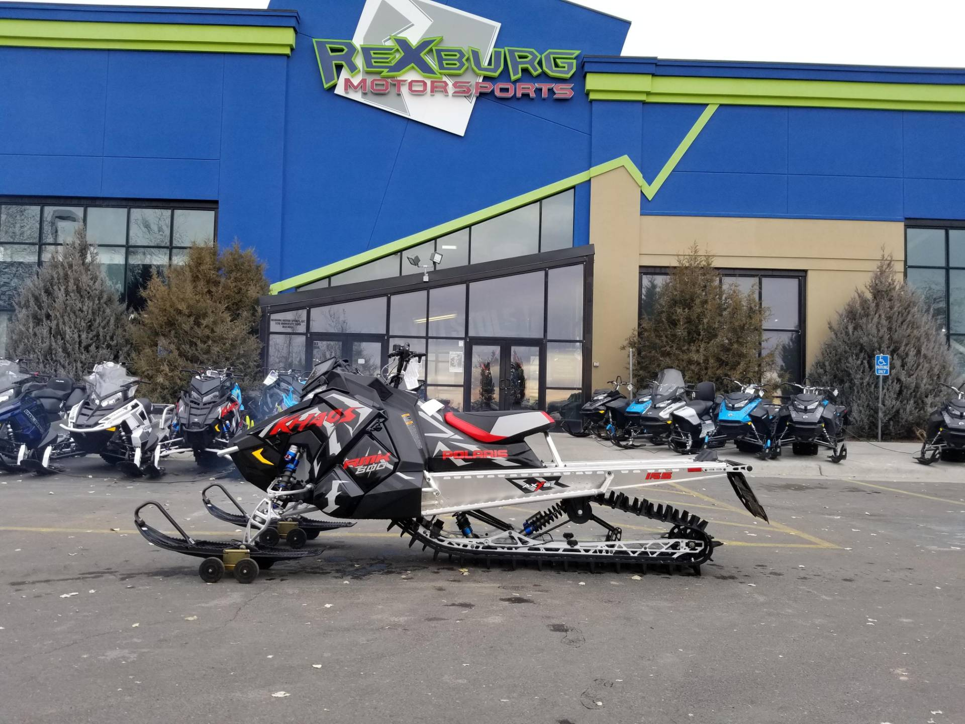 2020 Polaris 800 RMK KHAOS 155 SC in Rexburg, Idaho - Photo 1