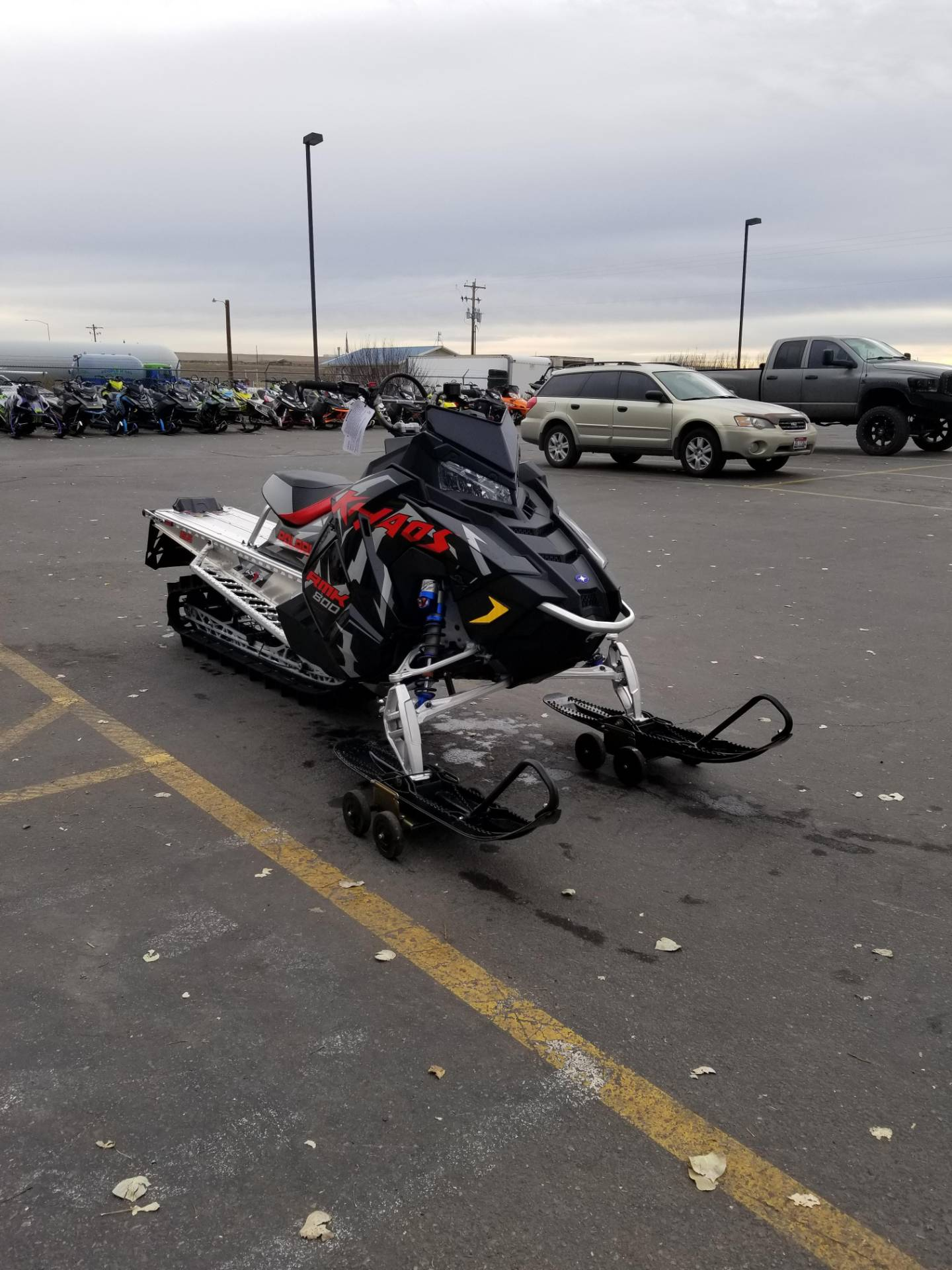 2020 Polaris 800 RMK KHAOS 155 SC in Rexburg, Idaho - Photo 5