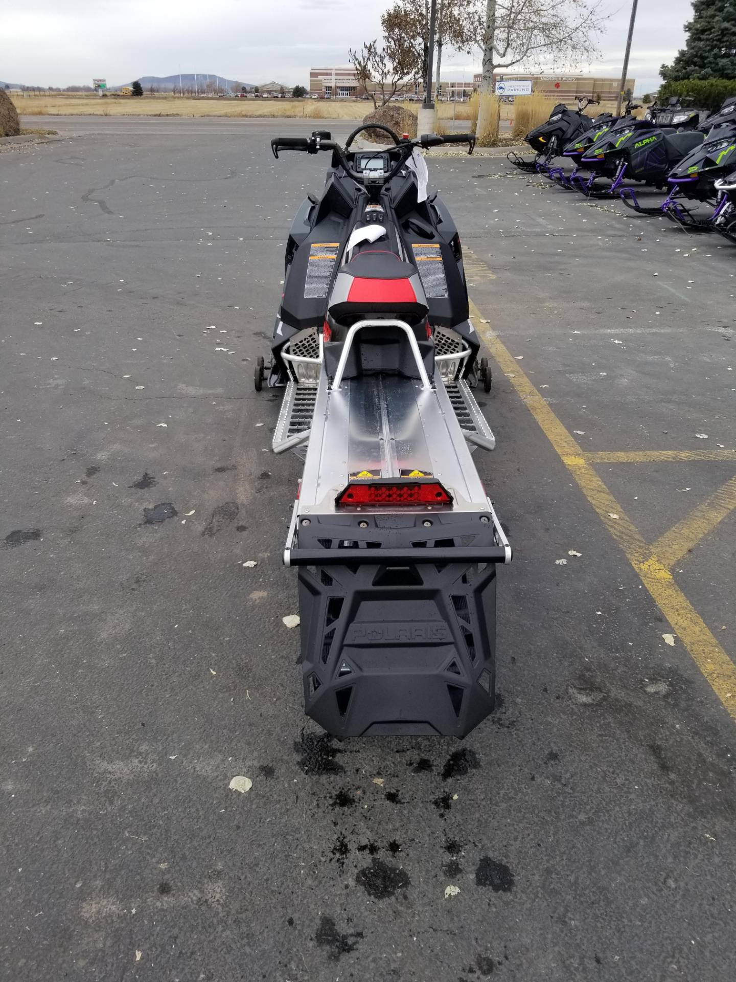 2020 Polaris 800 RMK KHAOS 155 SC in Rexburg, Idaho - Photo 9