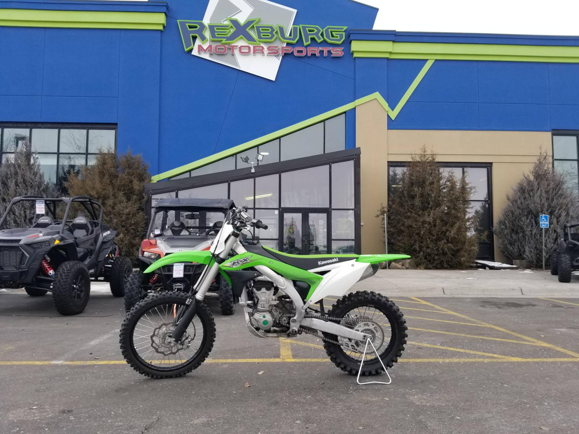 2018 Kawasaki KX 450F in Rexburg, Idaho - Photo 1