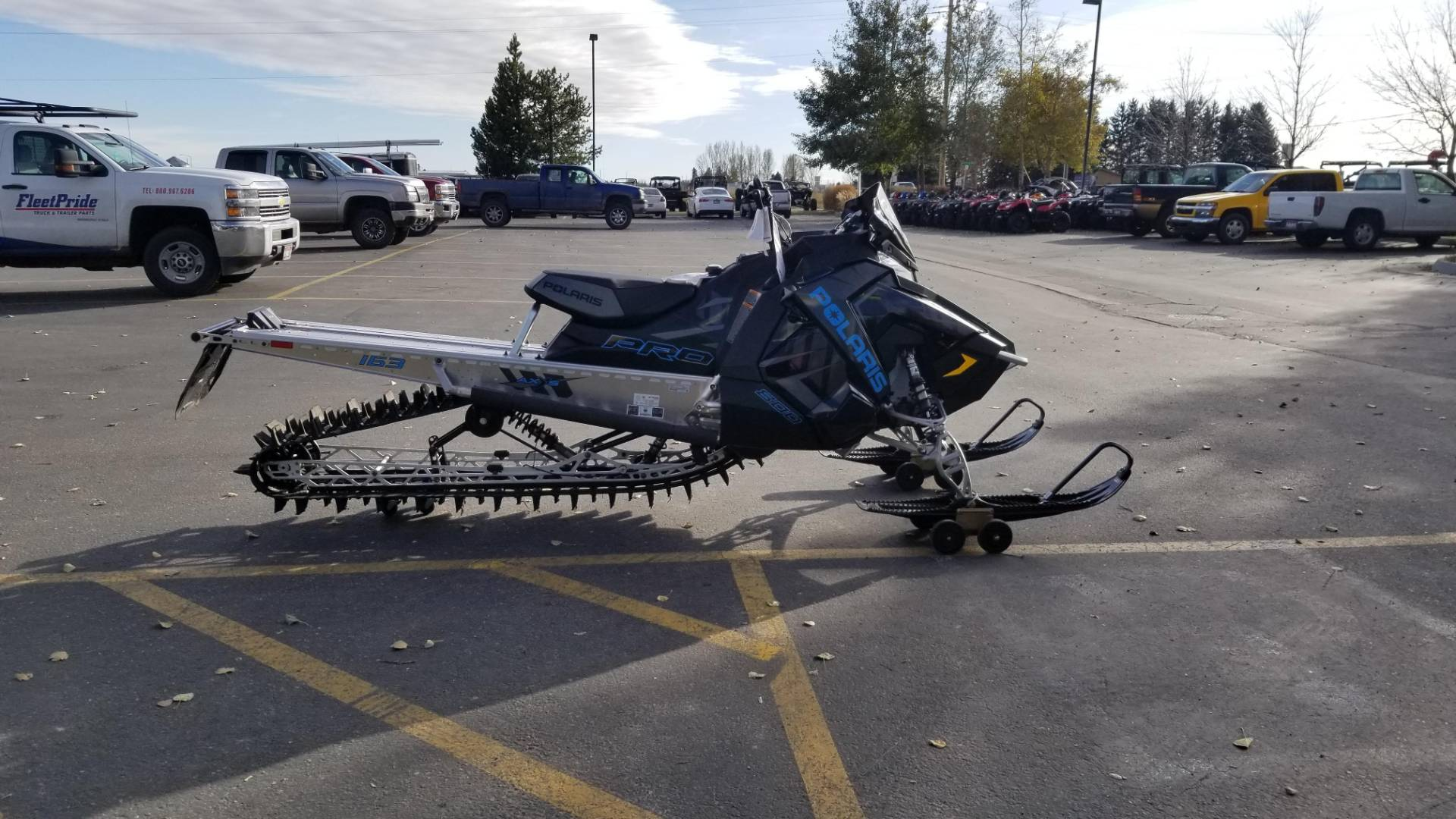 2020 Polaris 800 PRO-RMK 163 SC in Rexburg, Idaho - Photo 2