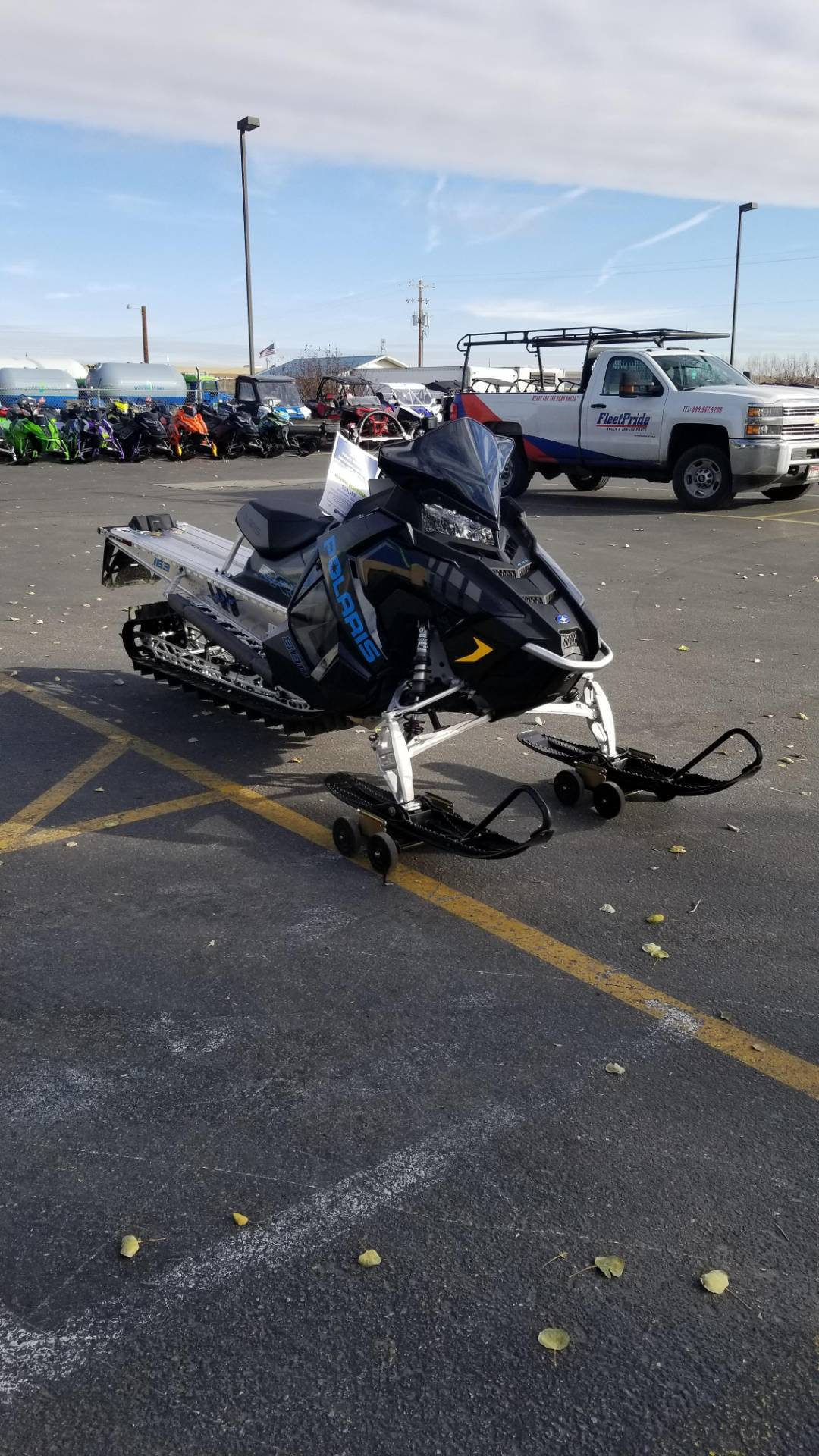 2020 Polaris 800 PRO-RMK 163 SC in Rexburg, Idaho - Photo 4