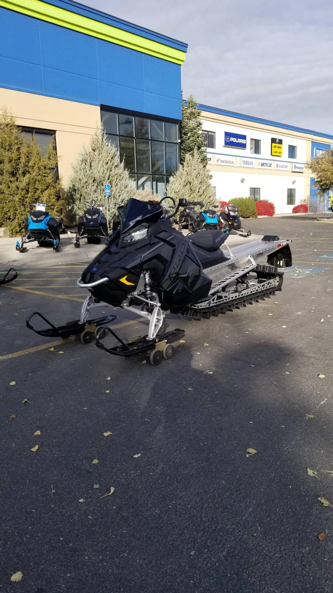 2020 Polaris 800 PRO RMK 163 SC in Rexburg, Idaho - Photo 2