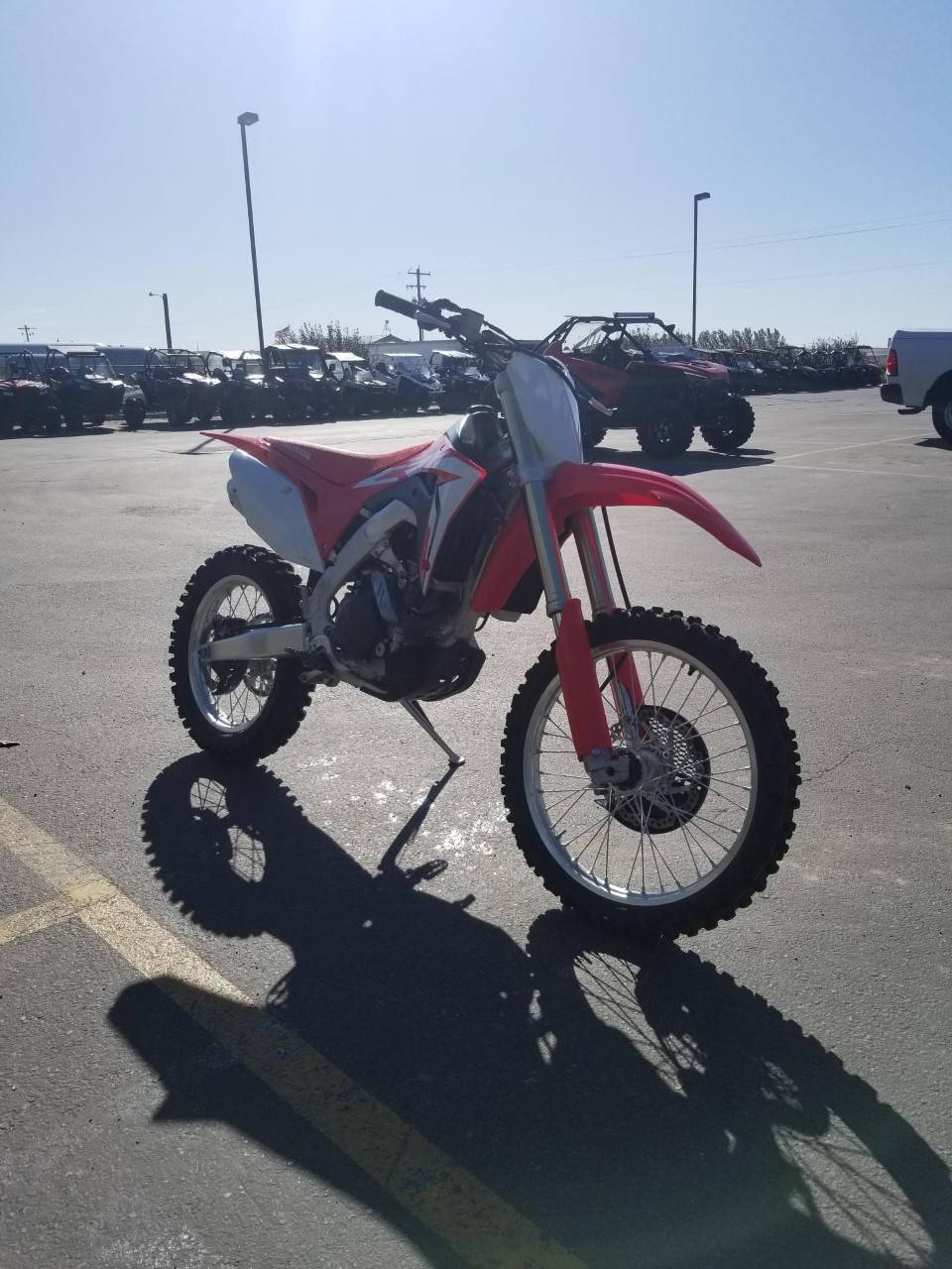2018 Honda CRF450RX in Rexburg, Idaho - Photo 8