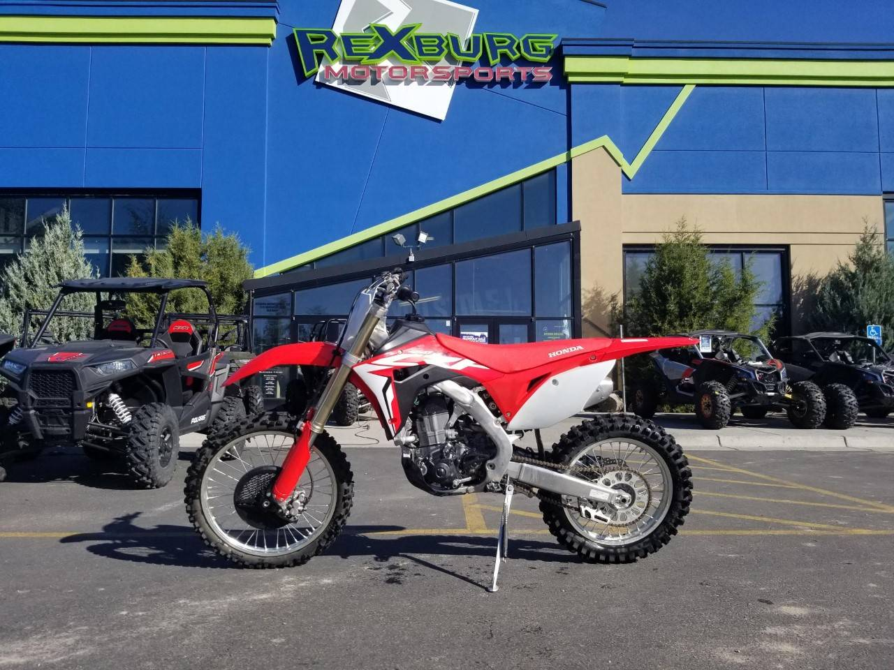 2018 Honda CRF450RX in Rexburg, Idaho - Photo 1