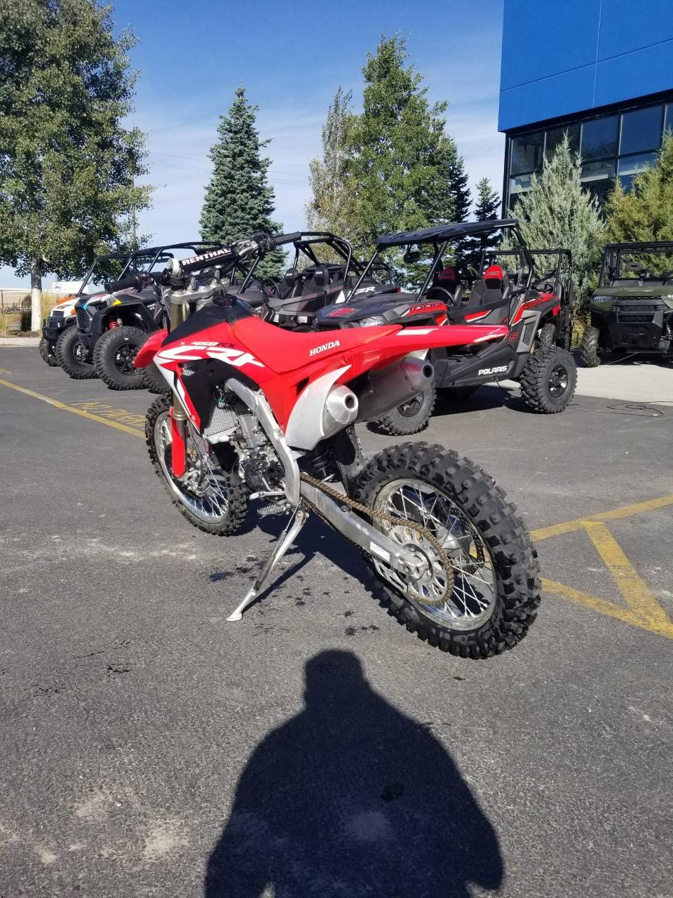2018 Honda CRF450RX in Rexburg, Idaho - Photo 2