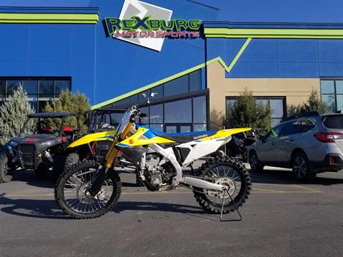 2018 Suzuki RM-Z450 in Rexburg, Idaho - Photo 1