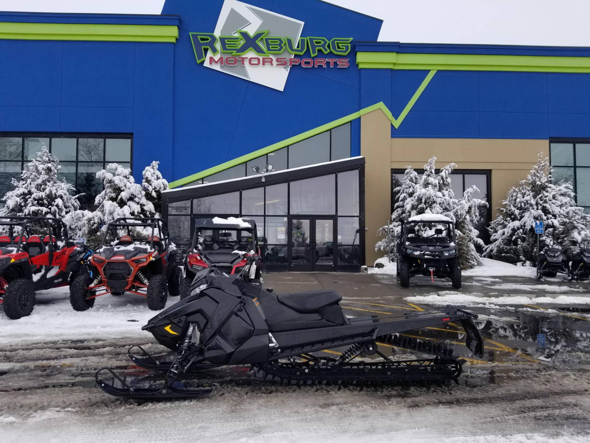2019 Polaris 800 PRO-RMK 174 SnowCheck Select 3.0 in Rexburg, Idaho - Photo 1