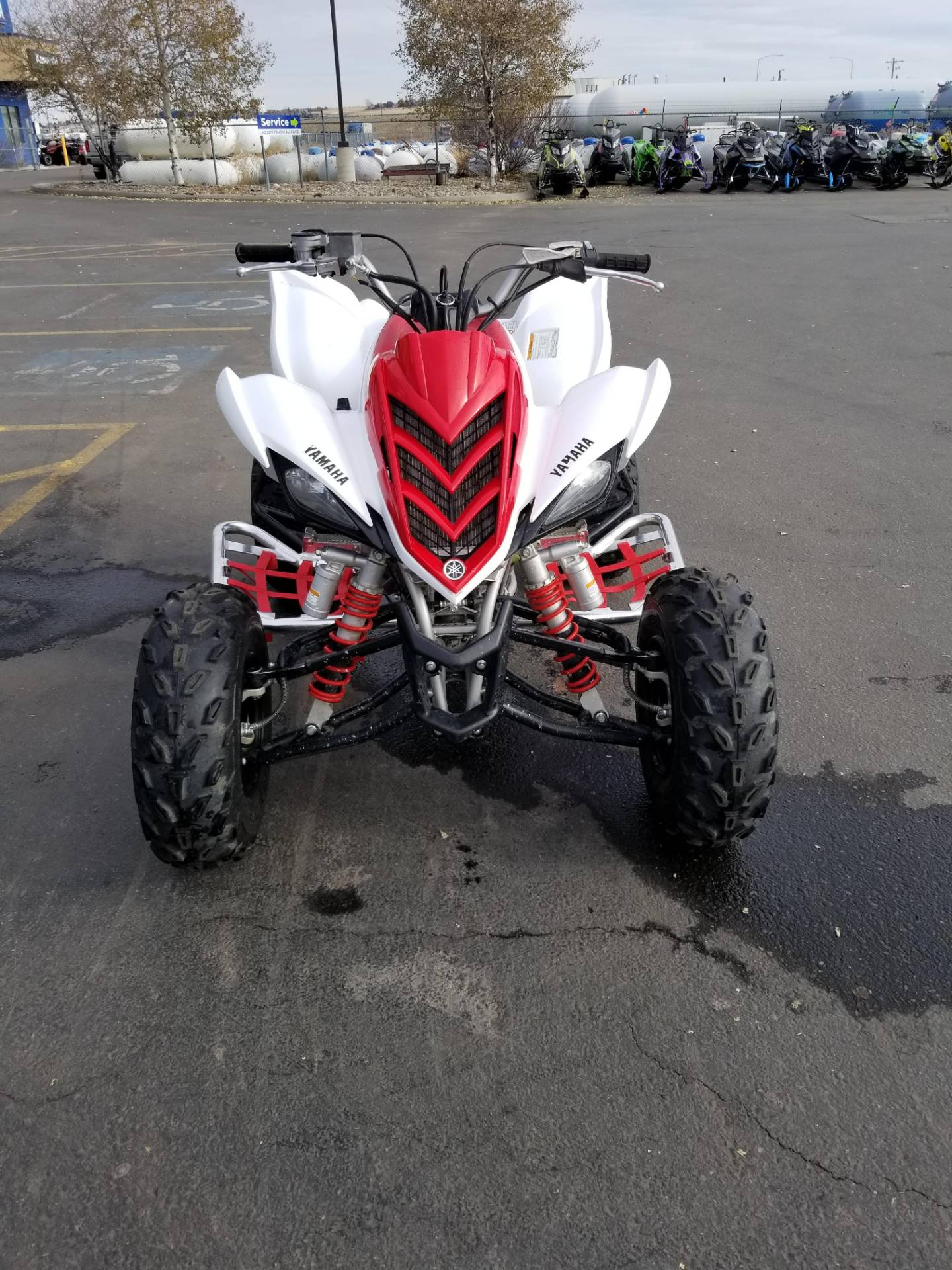 2011 Yamaha Raptor 700R in Rexburg, Idaho - Photo 4