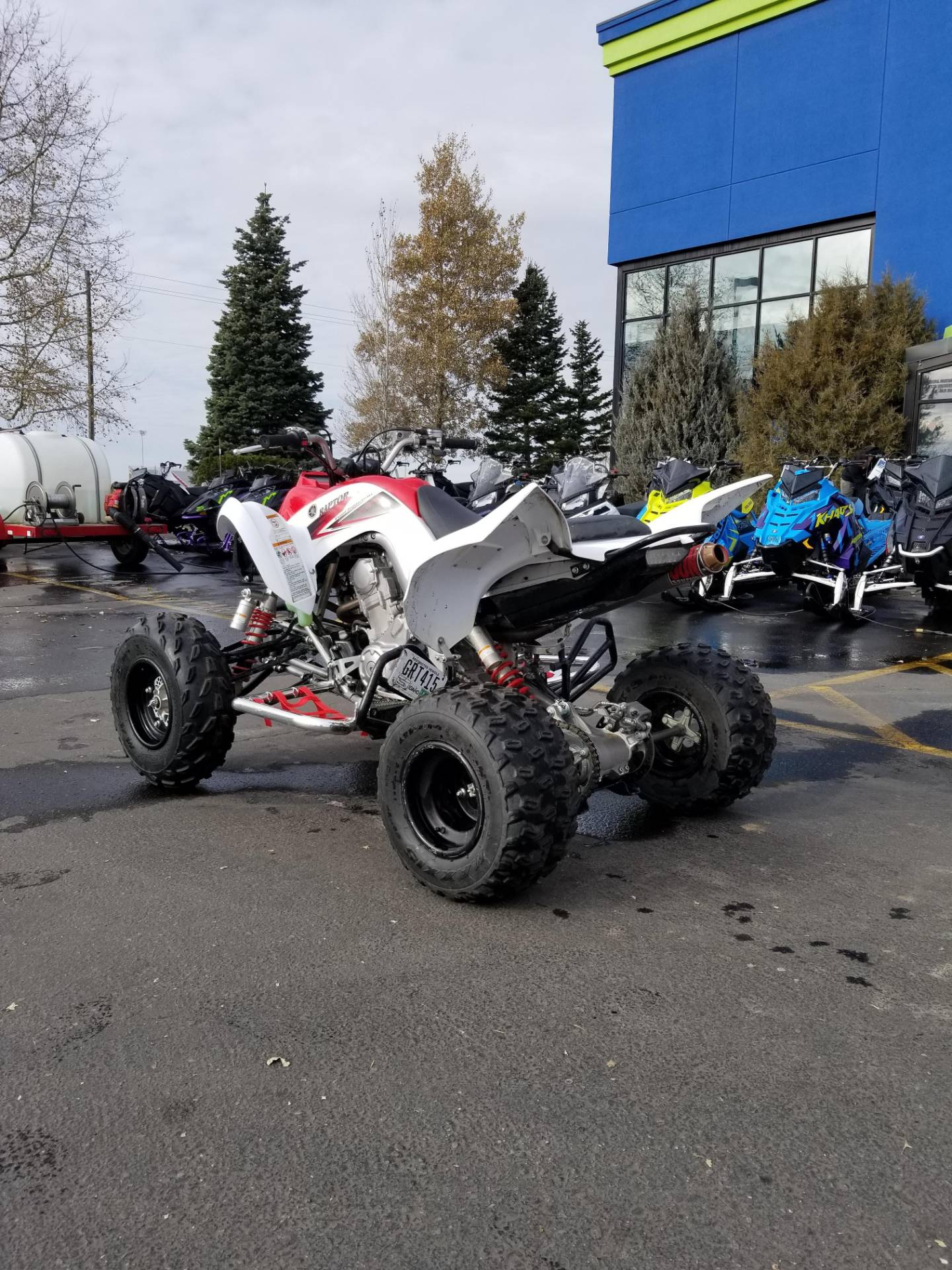 2011 Yamaha Raptor 700R in Rexburg, Idaho - Photo 10