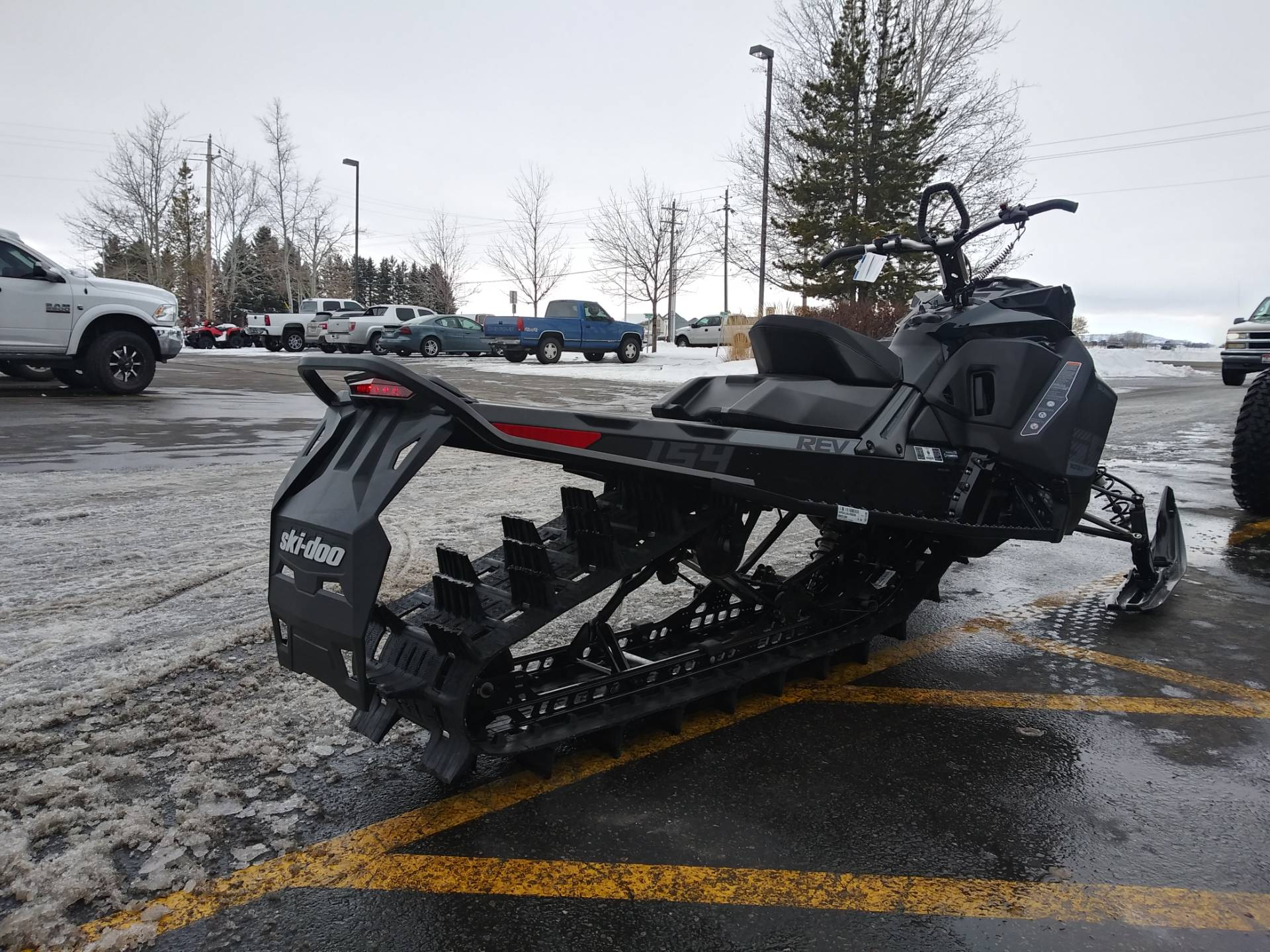2020 Ski-Doo Summit SP 154 850 E-TEC SHOT PowderMax Light 3.0 w/ FlexEdge in Rexburg, Idaho - Photo 8