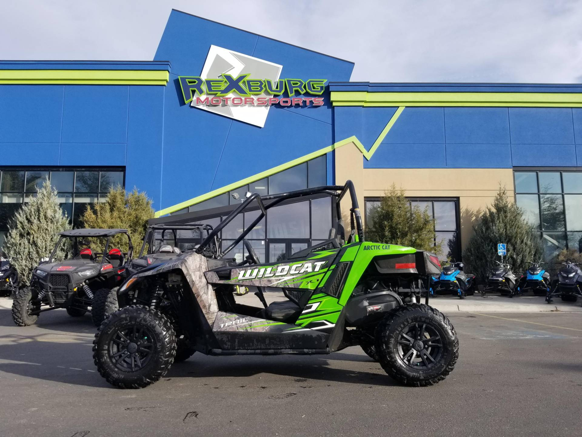 2017 Arctic Cat Wildcat Trail XT EPS in Rexburg, Idaho - Photo 1