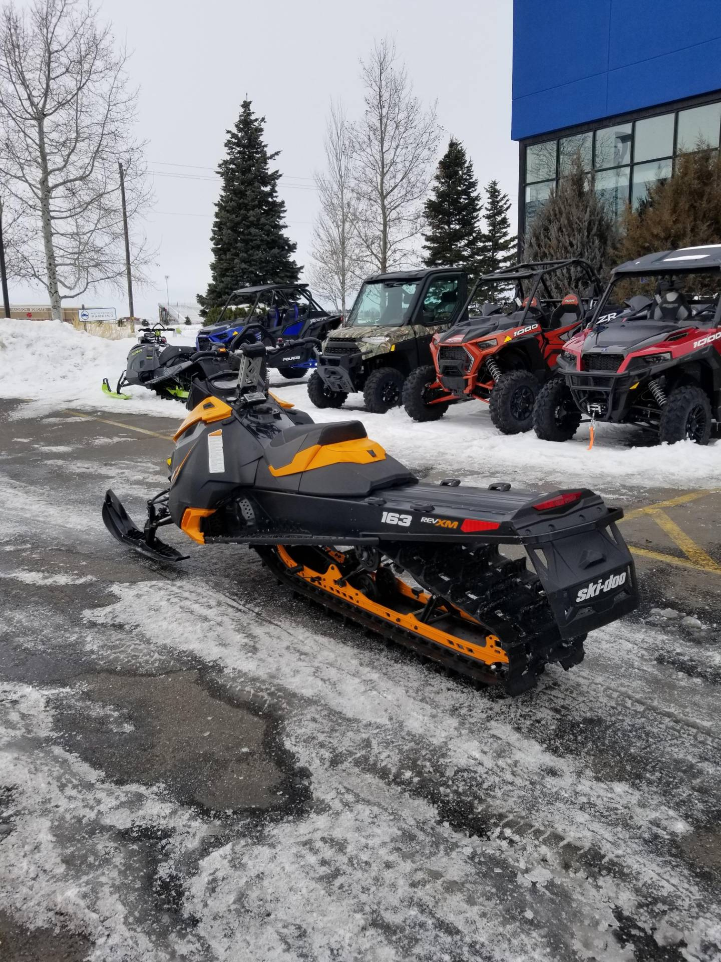 2013 Ski-Doo Summit® SP E-TEC 800R 163 in Rexburg, Idaho - Photo 10