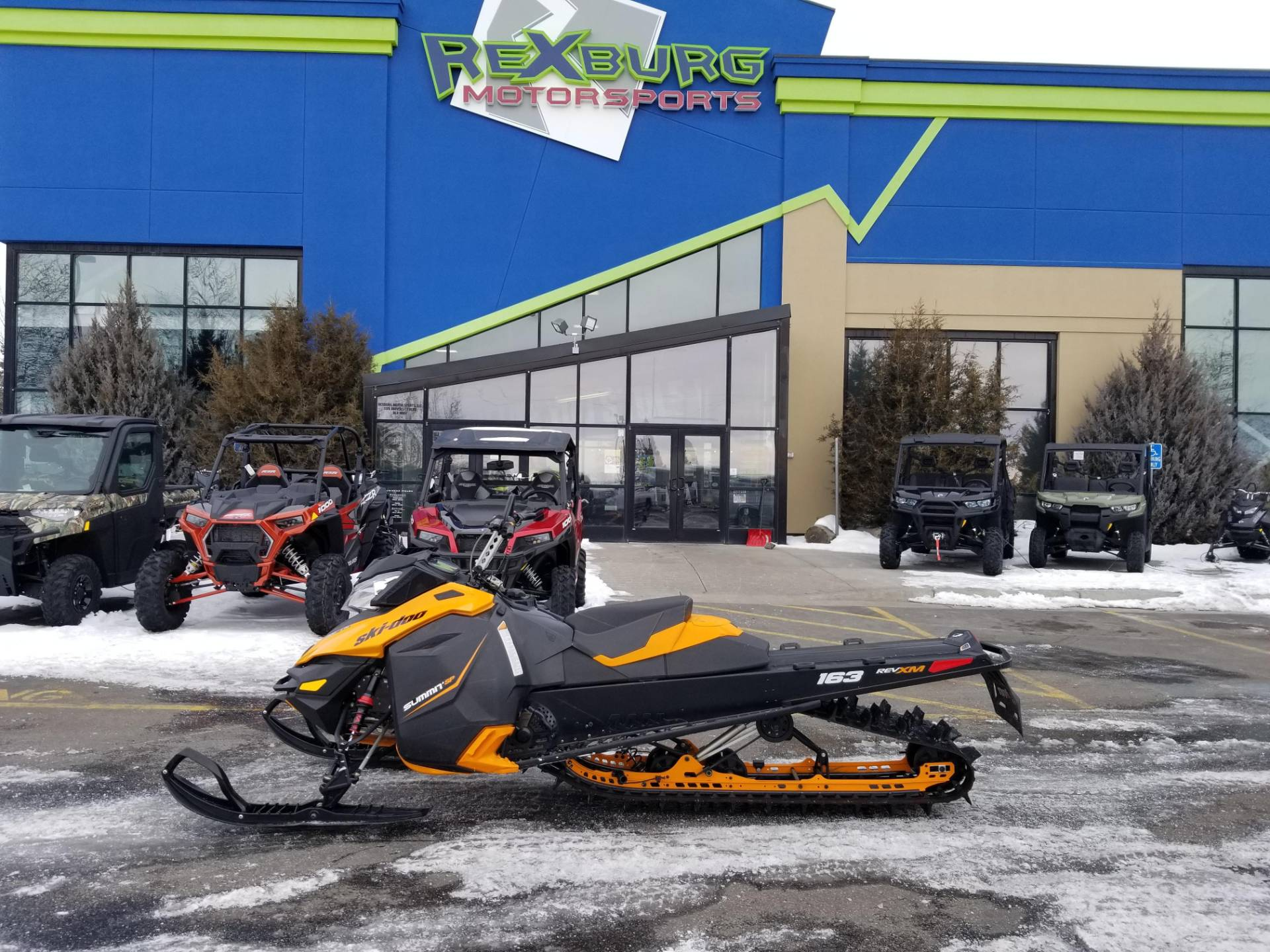 2013 Ski-Doo Summit® SP E-TEC 800R 163 in Rexburg, Idaho - Photo 1
