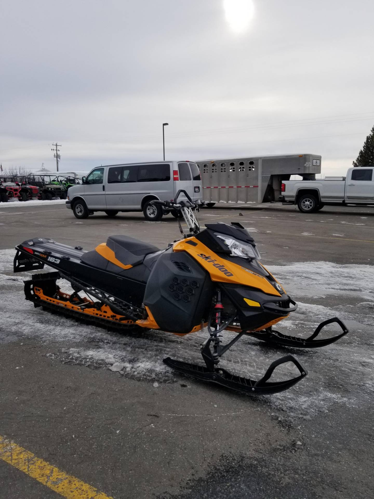 2013 Ski-Doo Summit® SP E-TEC 800R 163 in Rexburg, Idaho - Photo 5