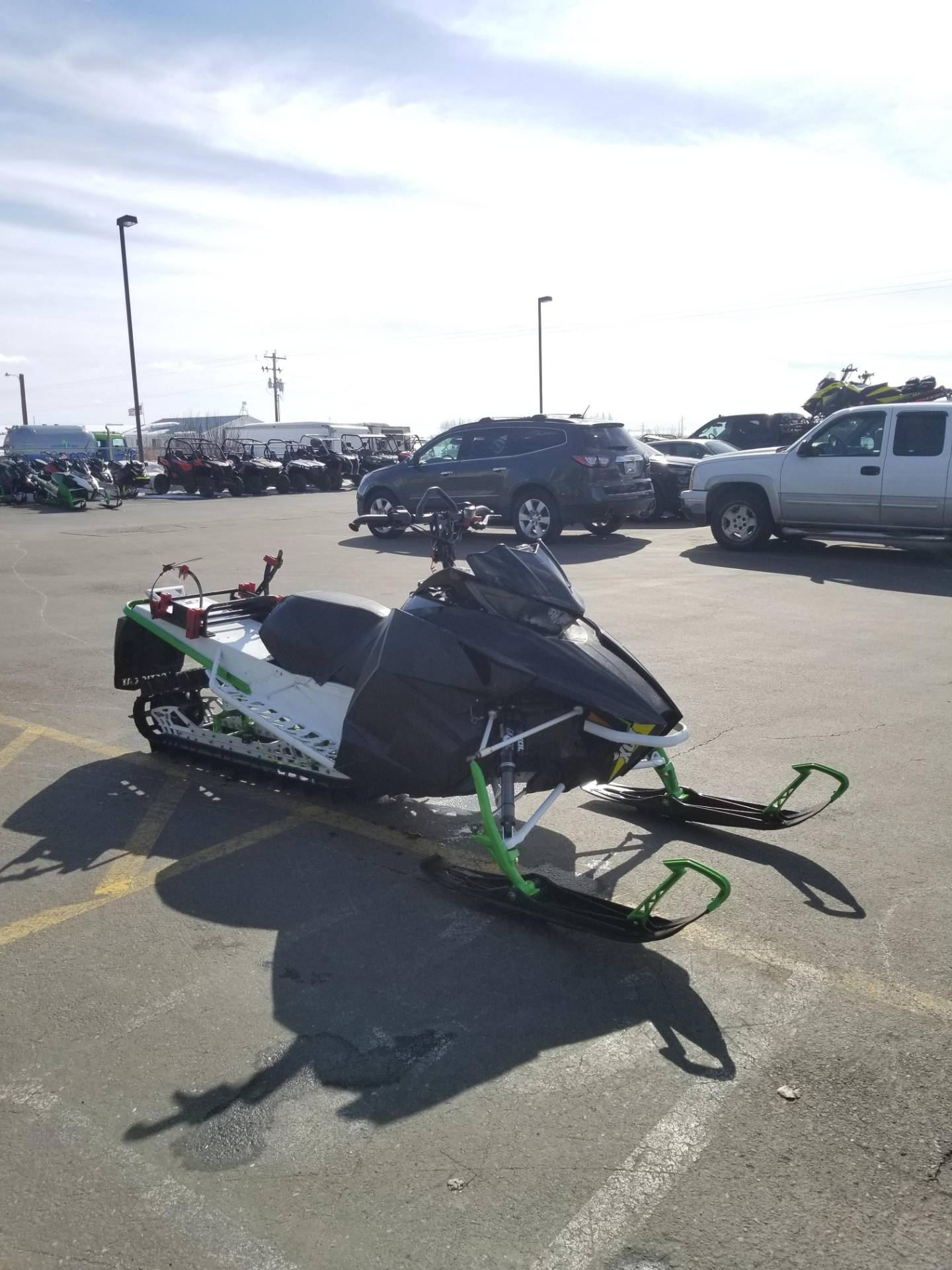 "2016 Arctic Cat M 8000 153"" HCR in Rexburg, Idaho - Photo 5"