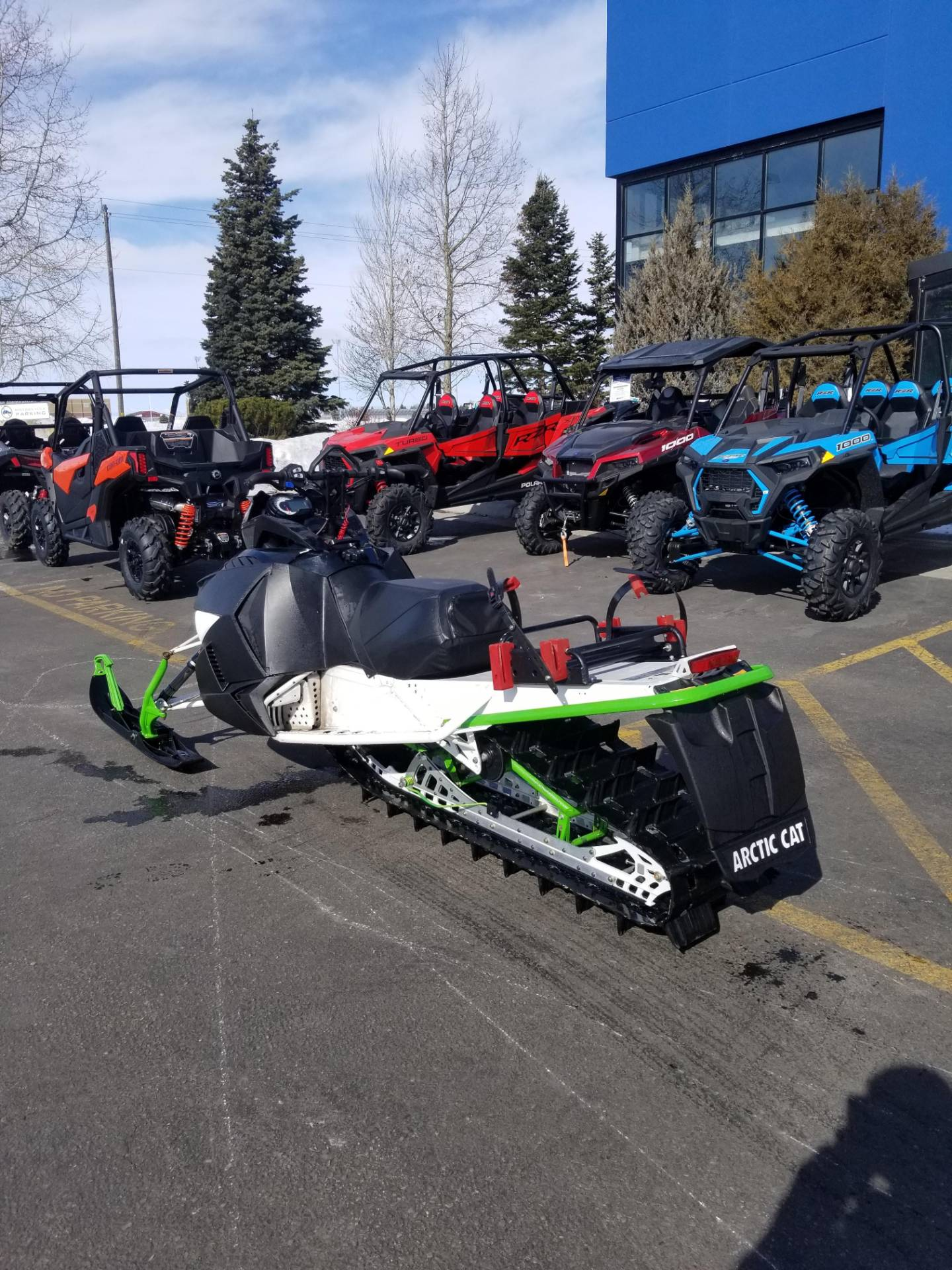 "2016 Arctic Cat M 8000 153"" HCR in Rexburg, Idaho - Photo 10"