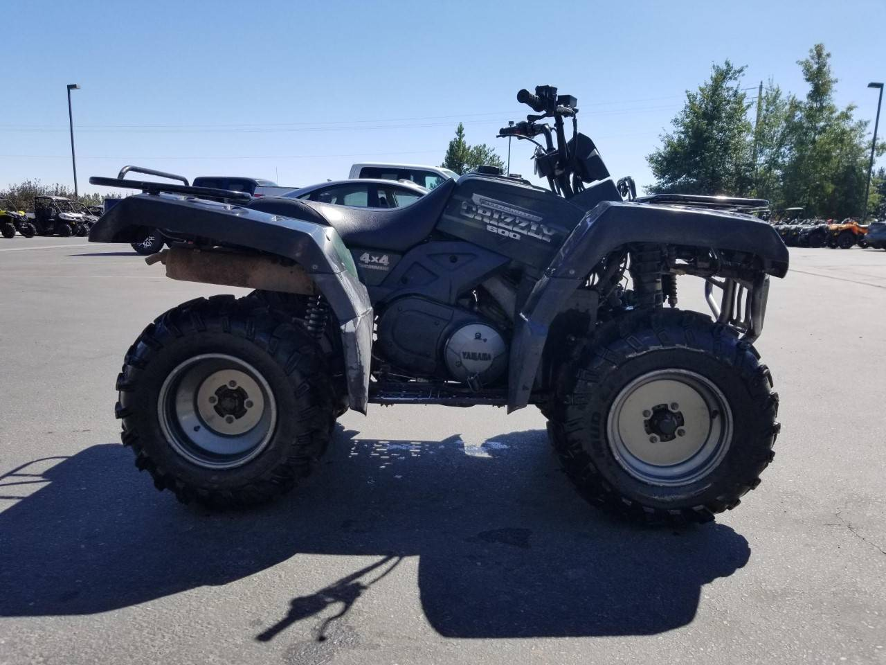 2001 Yamaha Grizzly 660 in Rexburg, Idaho - Photo 6