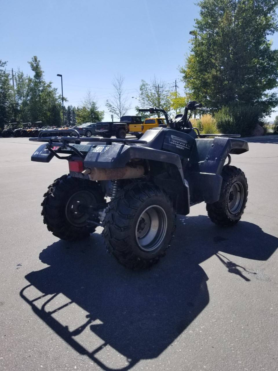 2001 Yamaha Grizzly 660 in Rexburg, Idaho - Photo 8