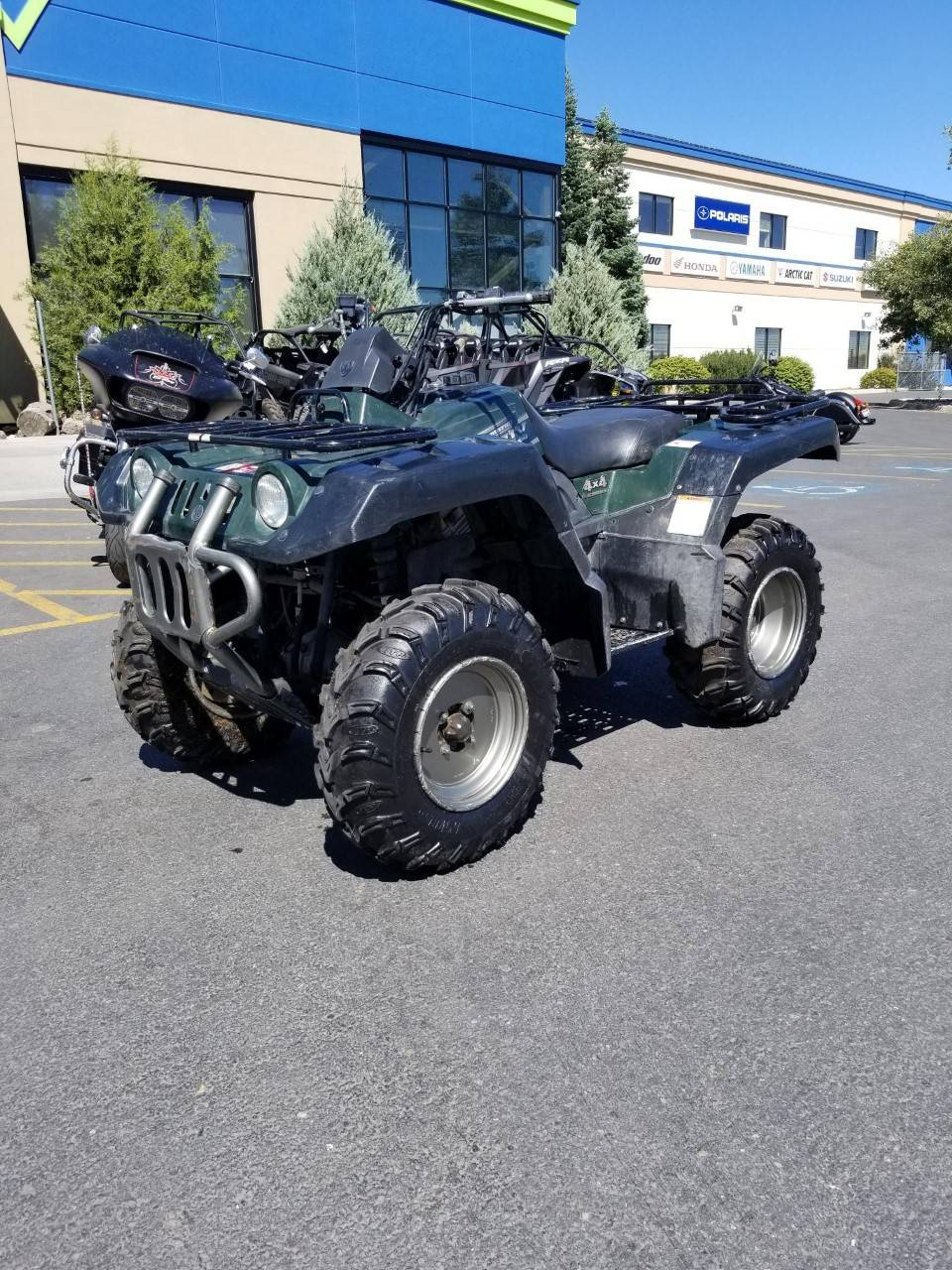 2001 Yamaha Grizzly 660 in Rexburg, Idaho - Photo 5