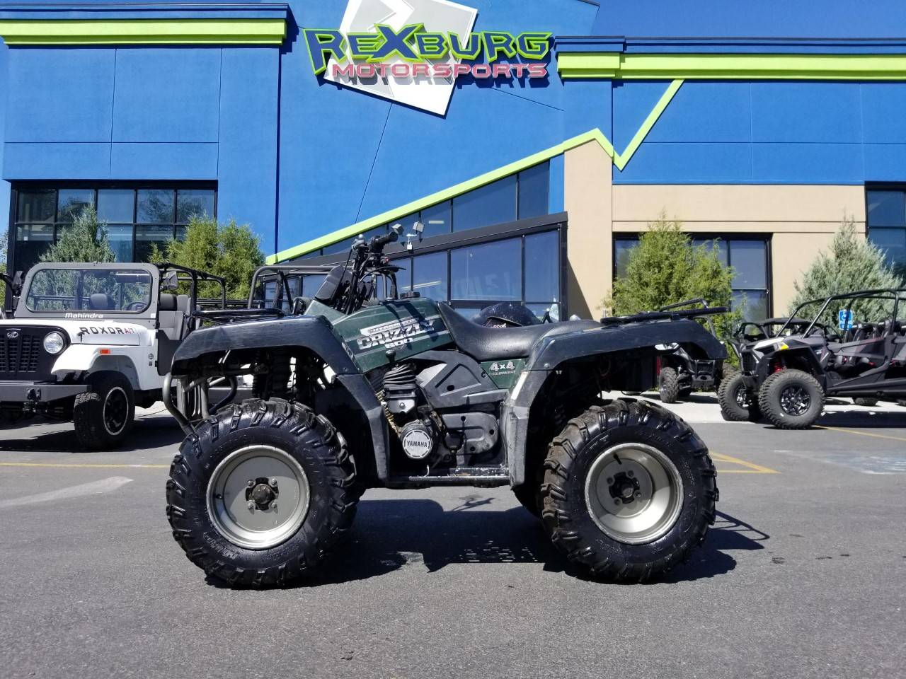2001 Yamaha Grizzly 660 in Rexburg, Idaho - Photo 1
