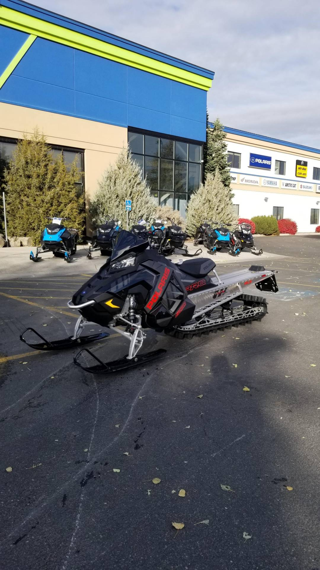 2020 Polaris 800 PRO RMK 155 SC in Rexburg, Idaho - Photo 2