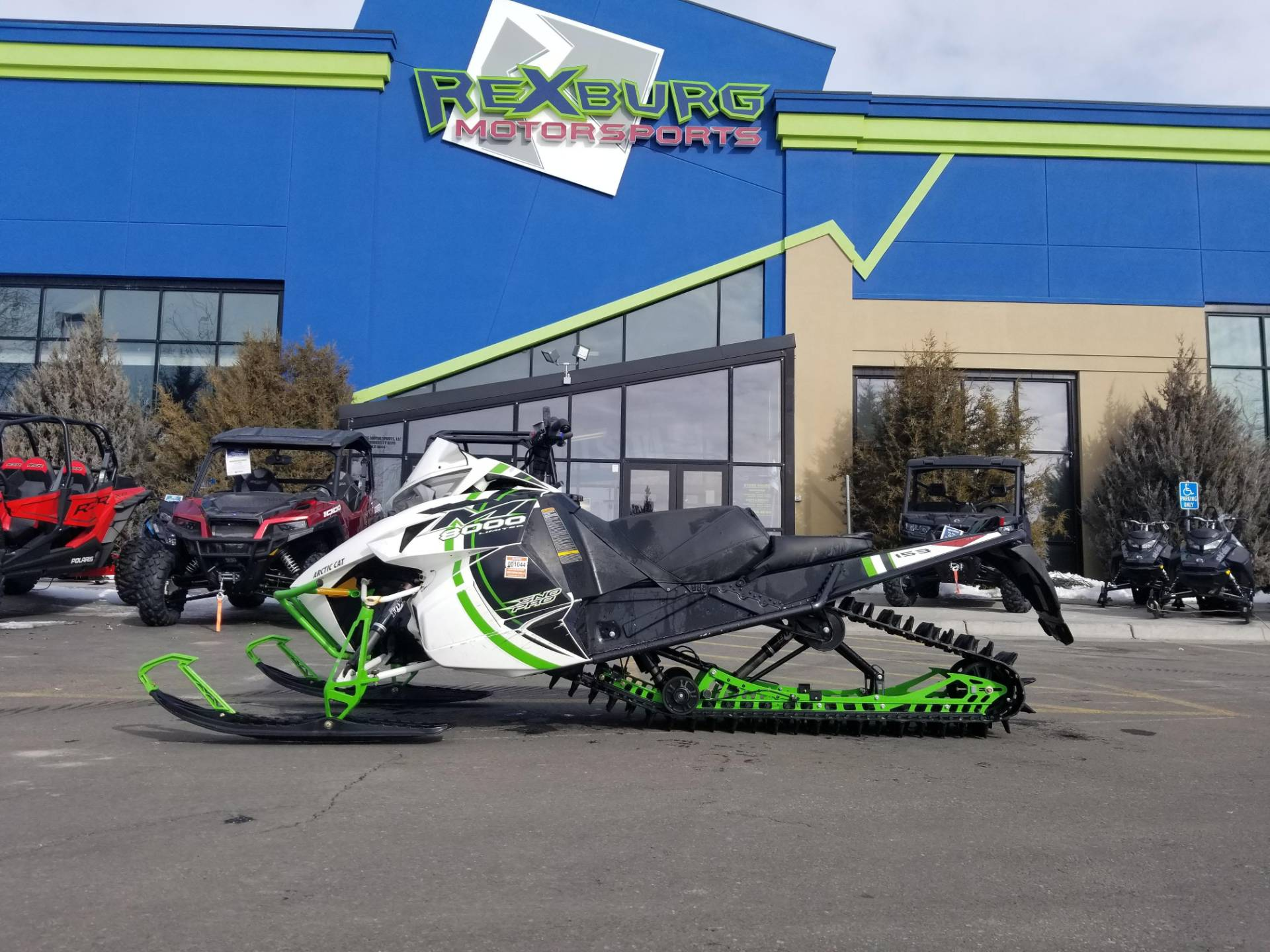 "2015 Arctic Cat M 8000 153"" Sno Pro Limited in Rexburg, Idaho - Photo 1"