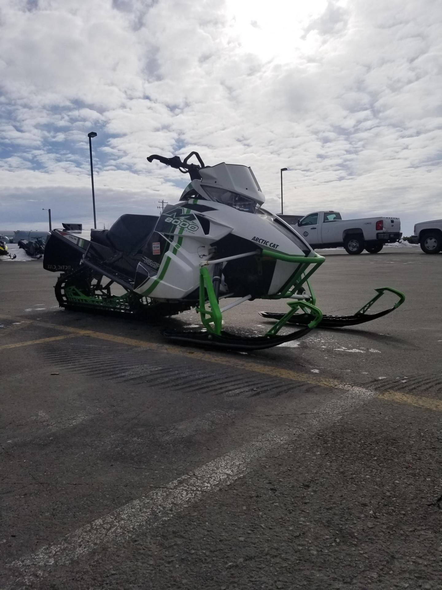 "2015 Arctic Cat M 8000 153"" Sno Pro Limited in Rexburg, Idaho - Photo 5"