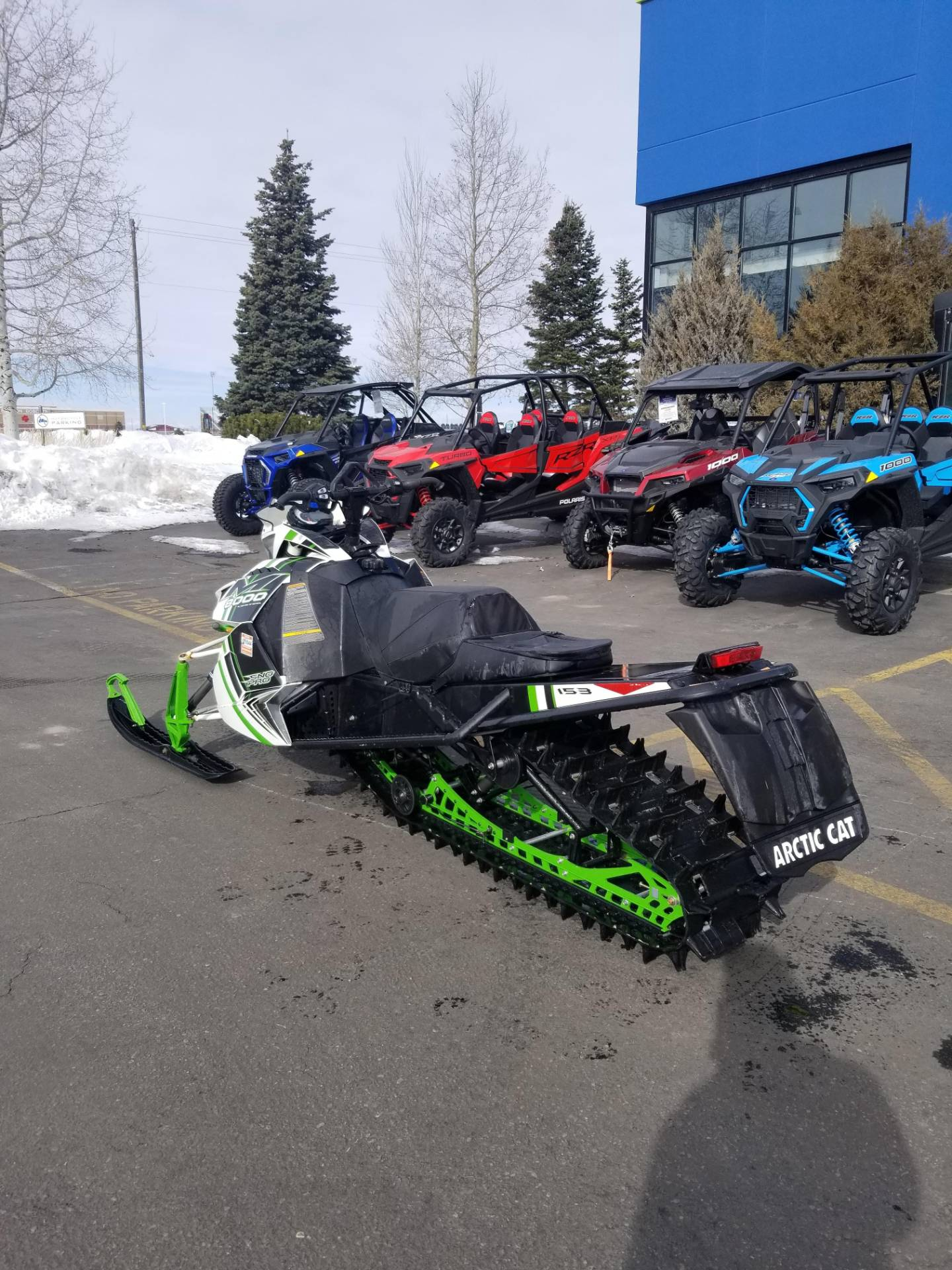 "2015 Arctic Cat M 8000 153"" Sno Pro Limited in Rexburg, Idaho - Photo 10"
