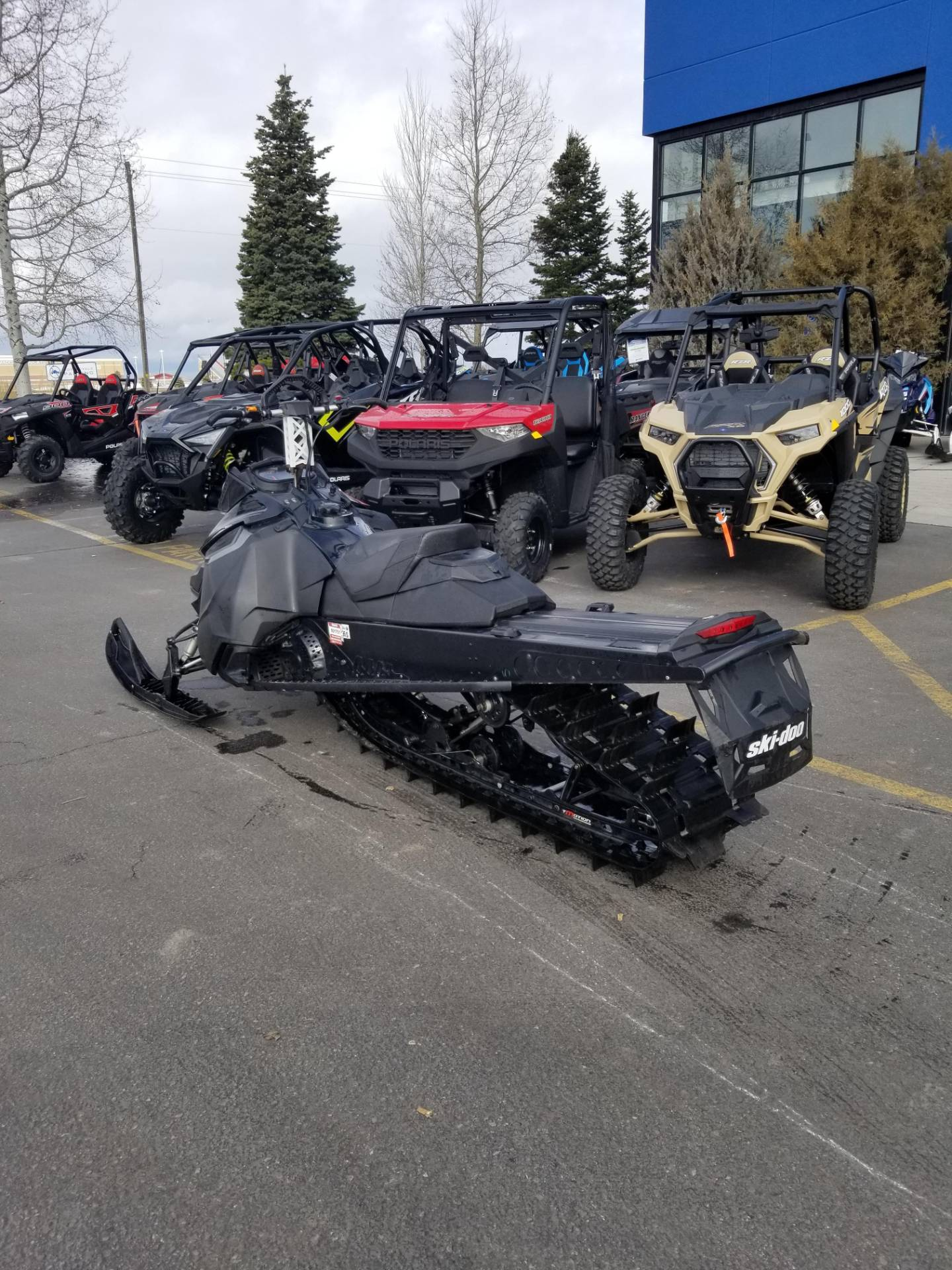 2013 Ski-Doo Summit® X® E-TEC 800R 154 in Rexburg, Idaho - Photo 10