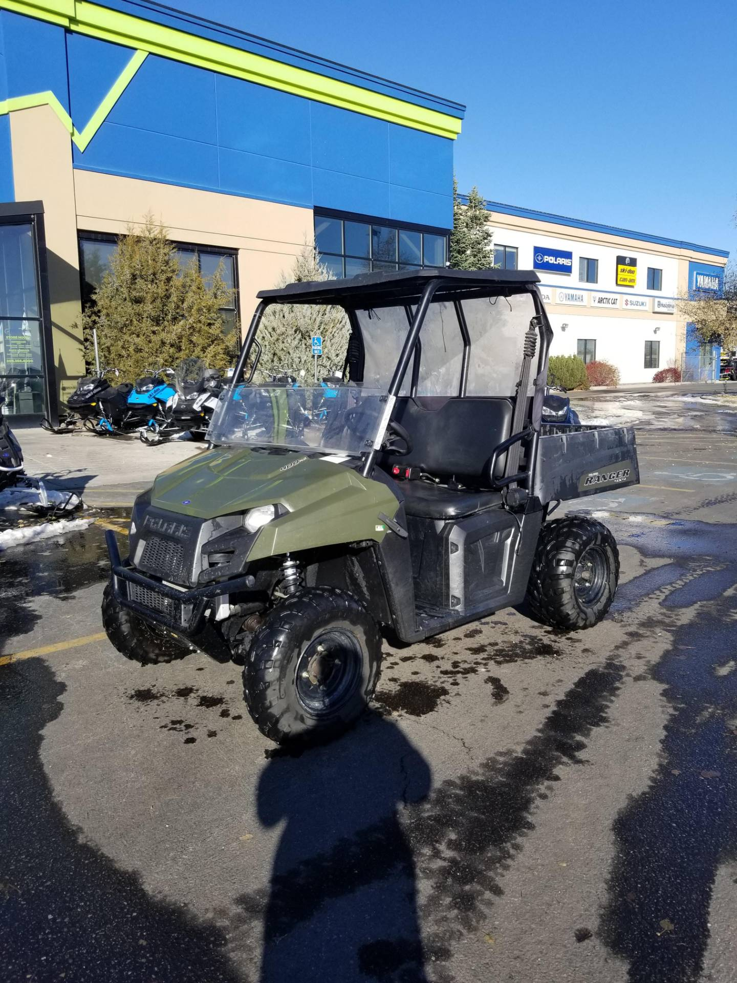 2013 Polaris Ranger® 400 in Rexburg, Idaho - Photo 2