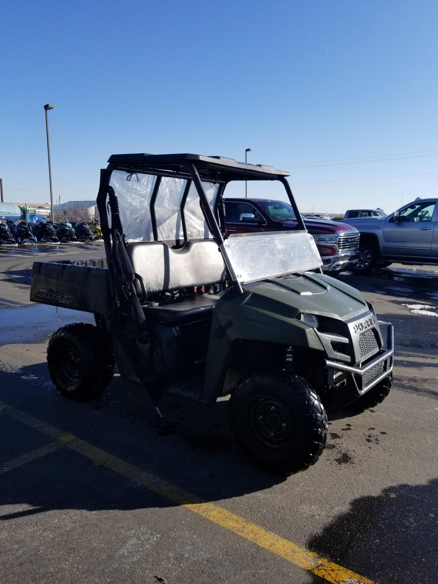2013 Polaris Ranger® 400 in Rexburg, Idaho - Photo 5