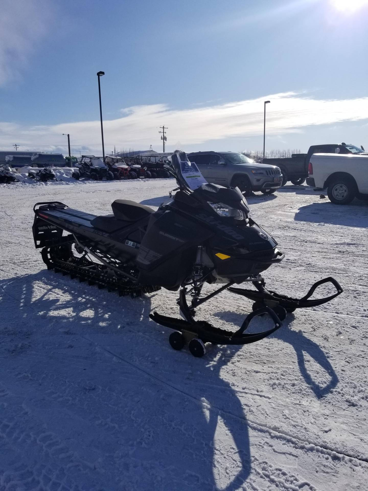 2020 Ski-Doo Summit SP 175 850 E-TEC SHOT PowderMax Light 3.0 w/ FlexEdge in Rexburg, Idaho - Photo 5