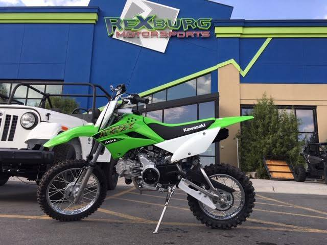 2020 Kawasaki KLX 110L in Rexburg, Idaho - Photo 1