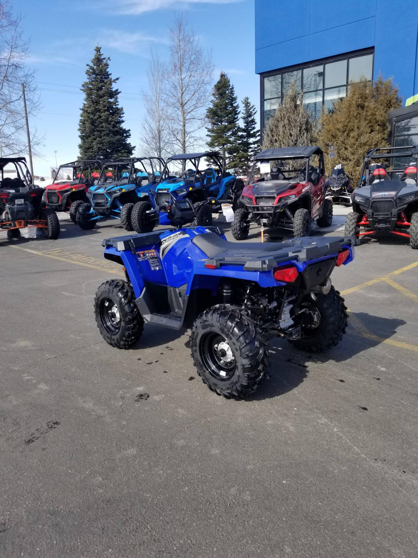 2020 Polaris Sportsman 450 H.O. EPS in Rexburg, Idaho - Photo 10