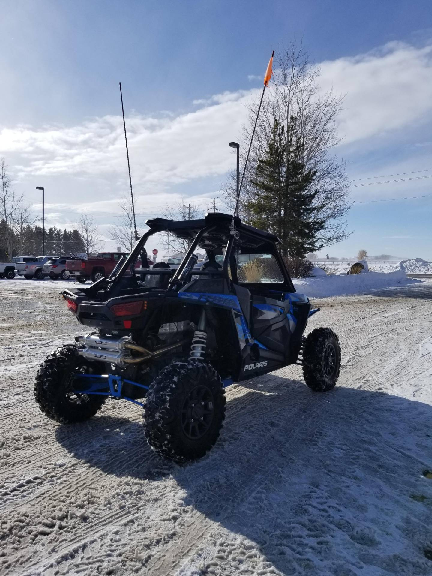 2016 Polaris RZR XP  Turbo EPS in Rexburg, Idaho - Photo 8