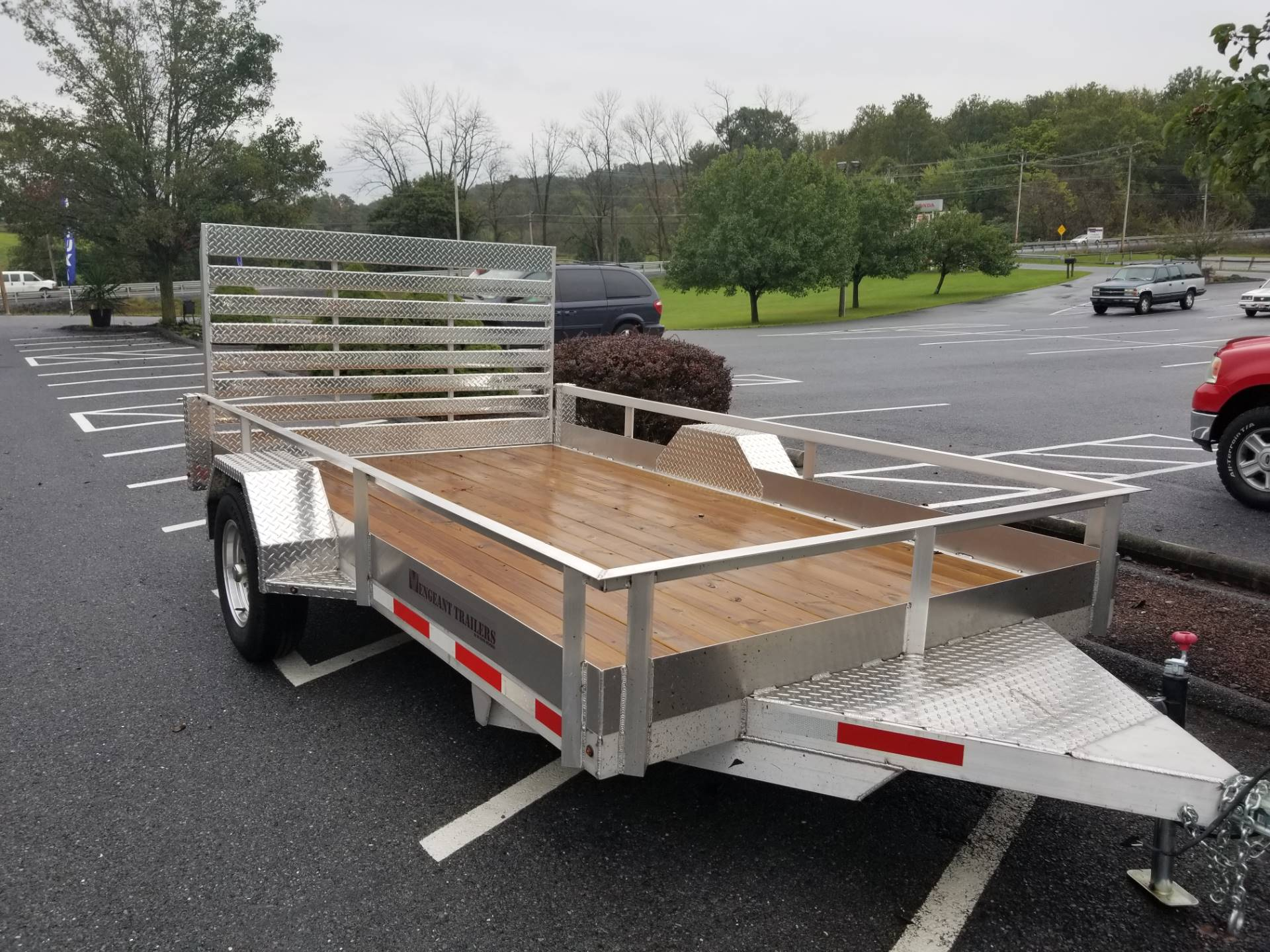 2017 Other Vengeant Aluminum Utility Trailer 7x12 in Jonestown, Pennsylvania